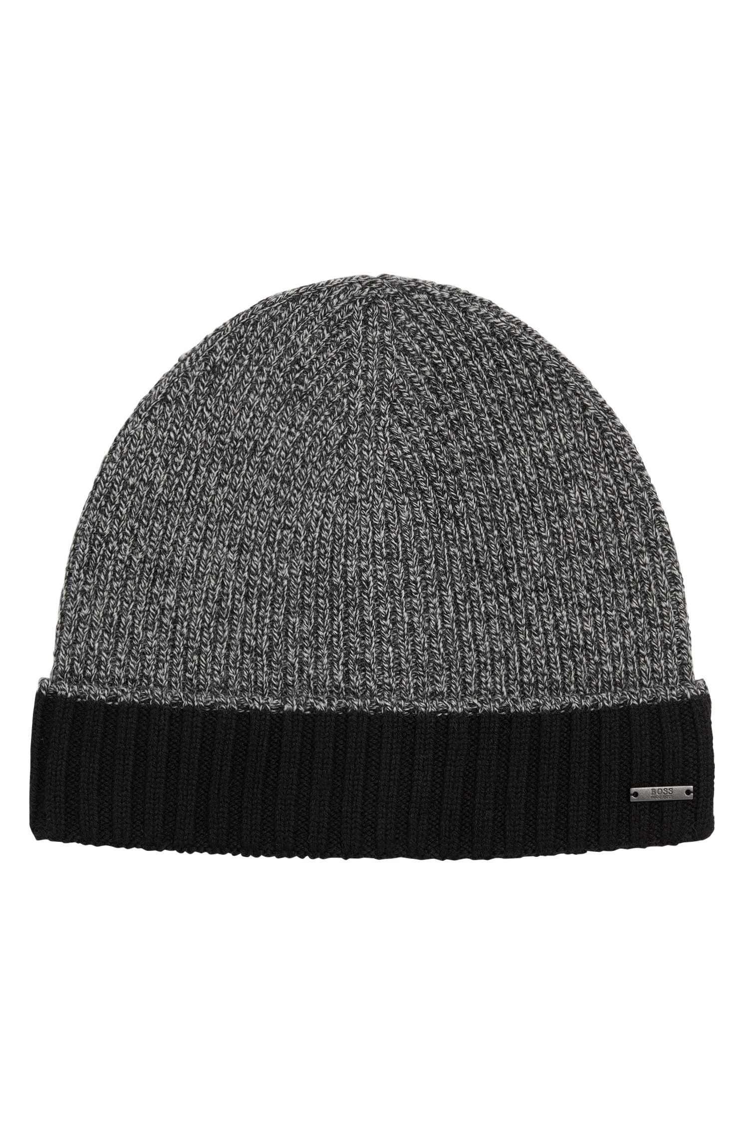 'Frisk' | Virgin Wool Knit Beanie Hat