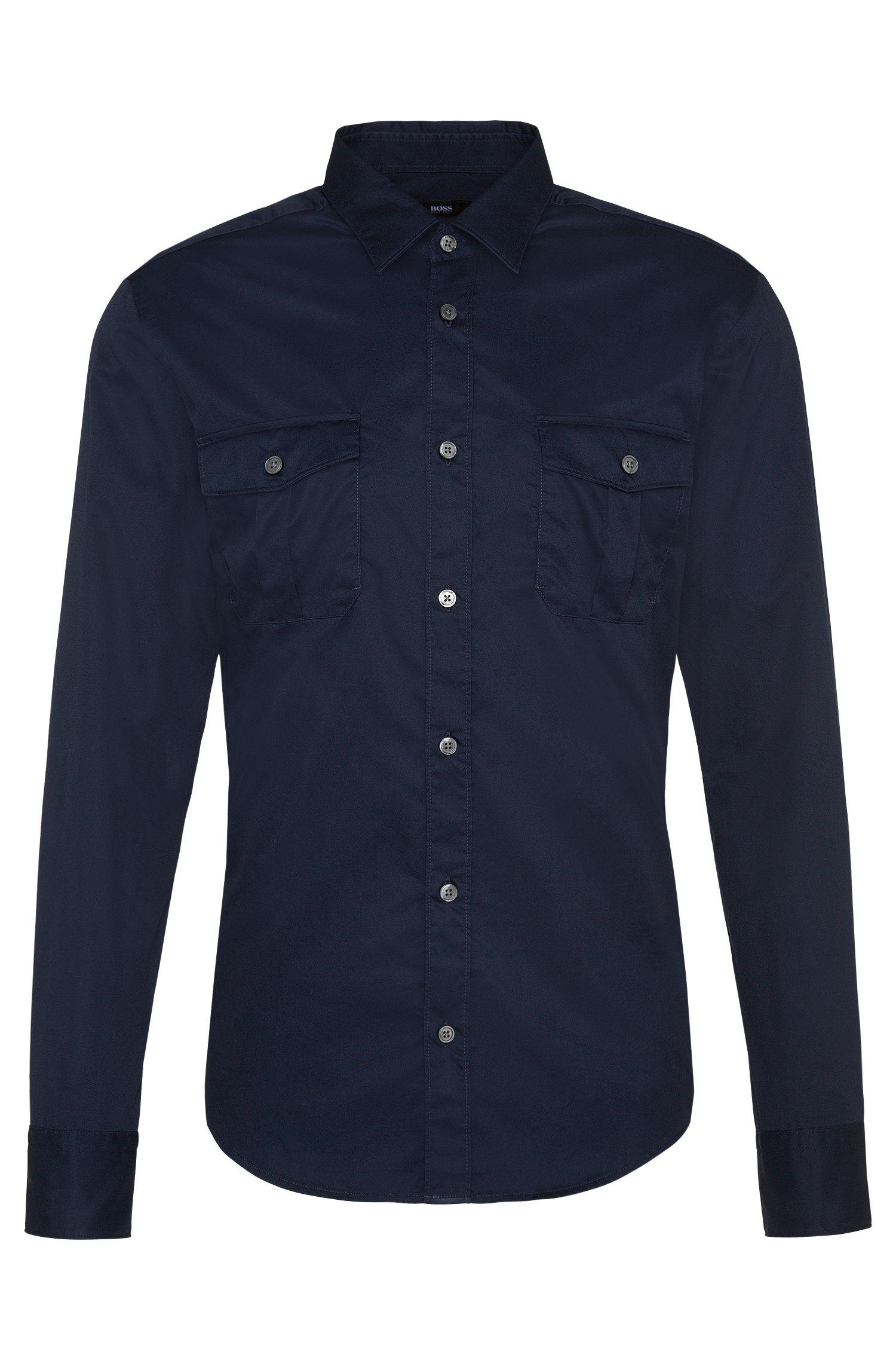 'Ramsey'   Slim Fit, Cotton Button Down Shirt