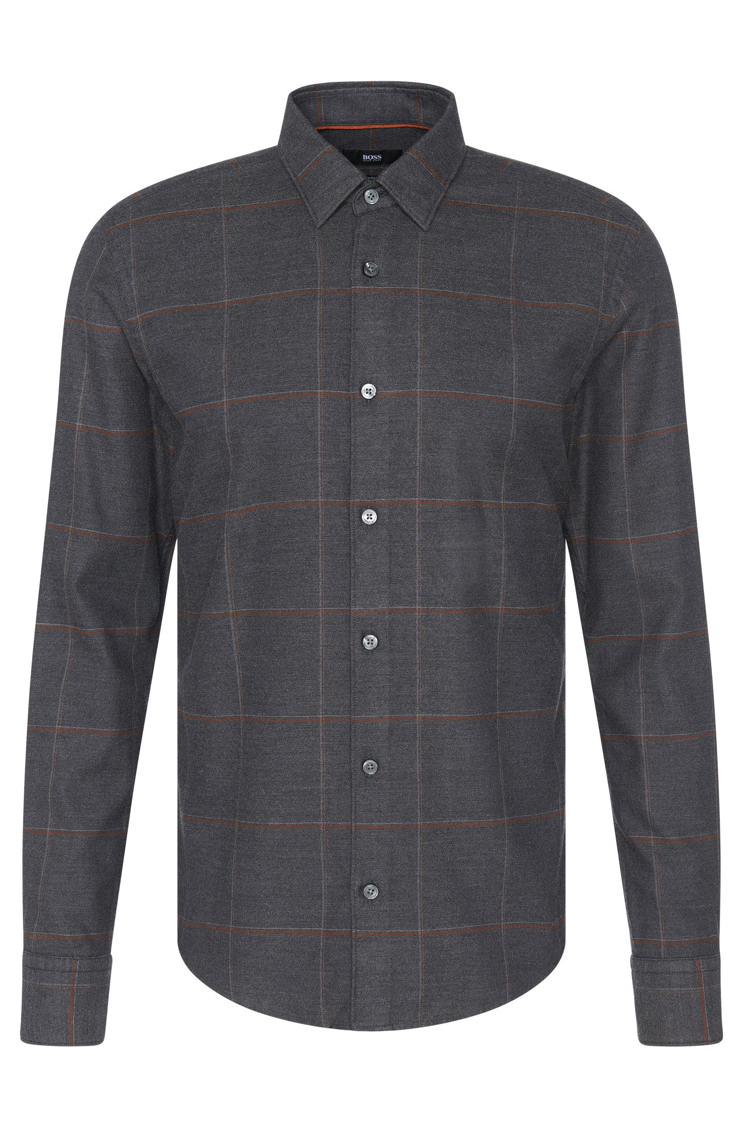 'Reid F' | Slim Fit, Cotton Lyocell Button Down Shirt