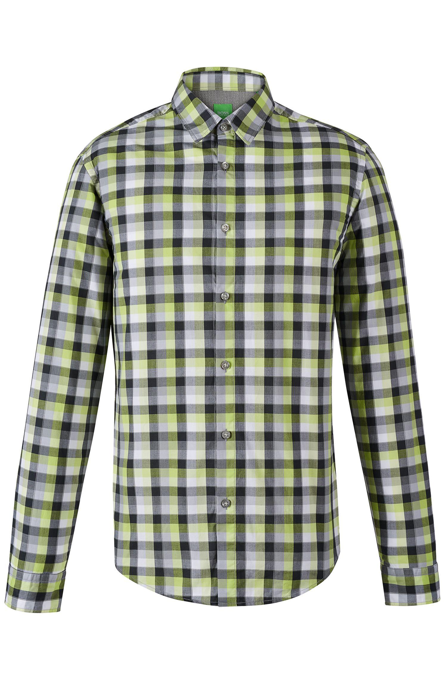 'C Bustai' | Modern Fit, Cotton Button Down Shirt