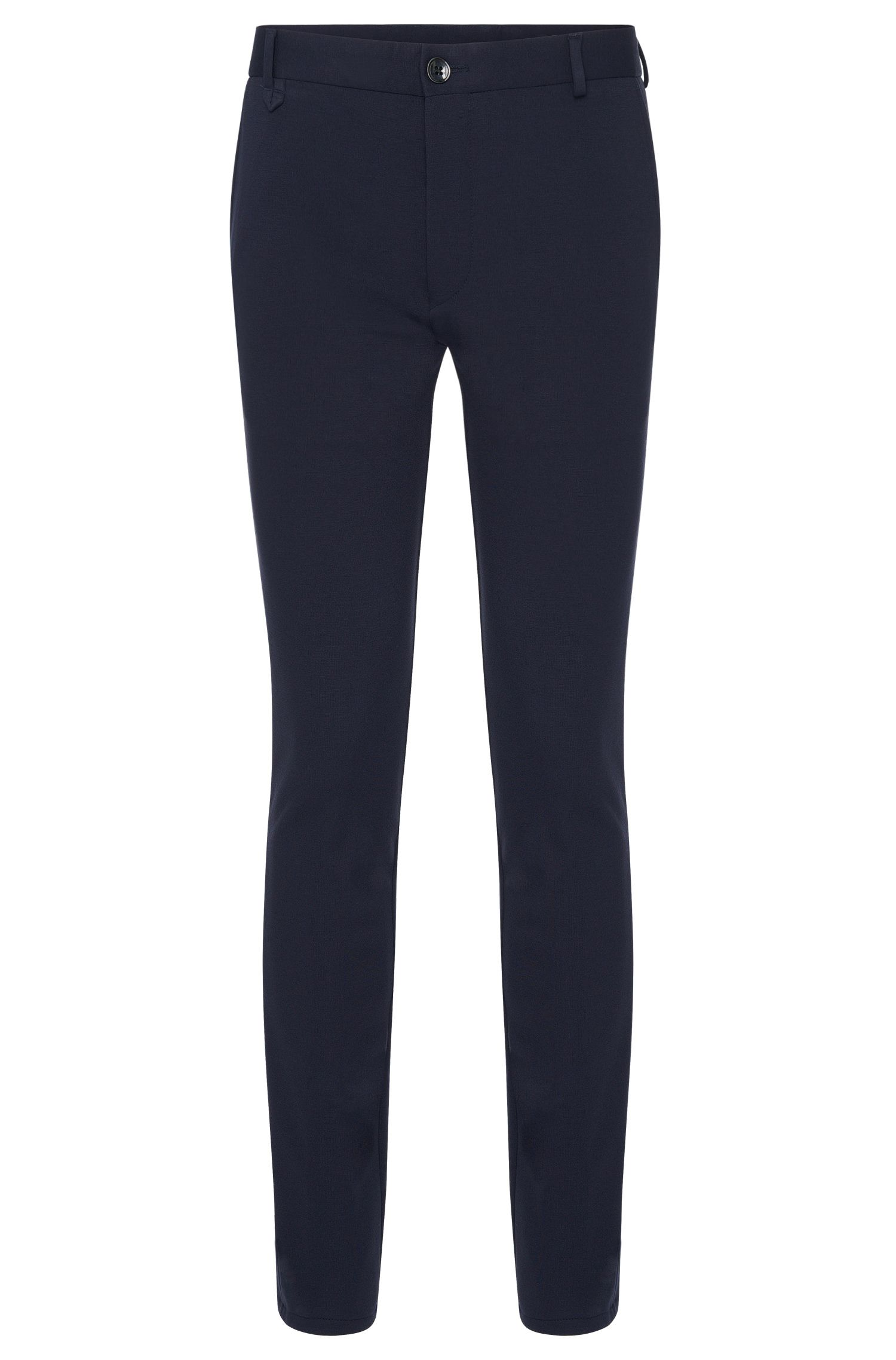 'Heldor' | Extra Slim Fit, Stretch Jersey Pants