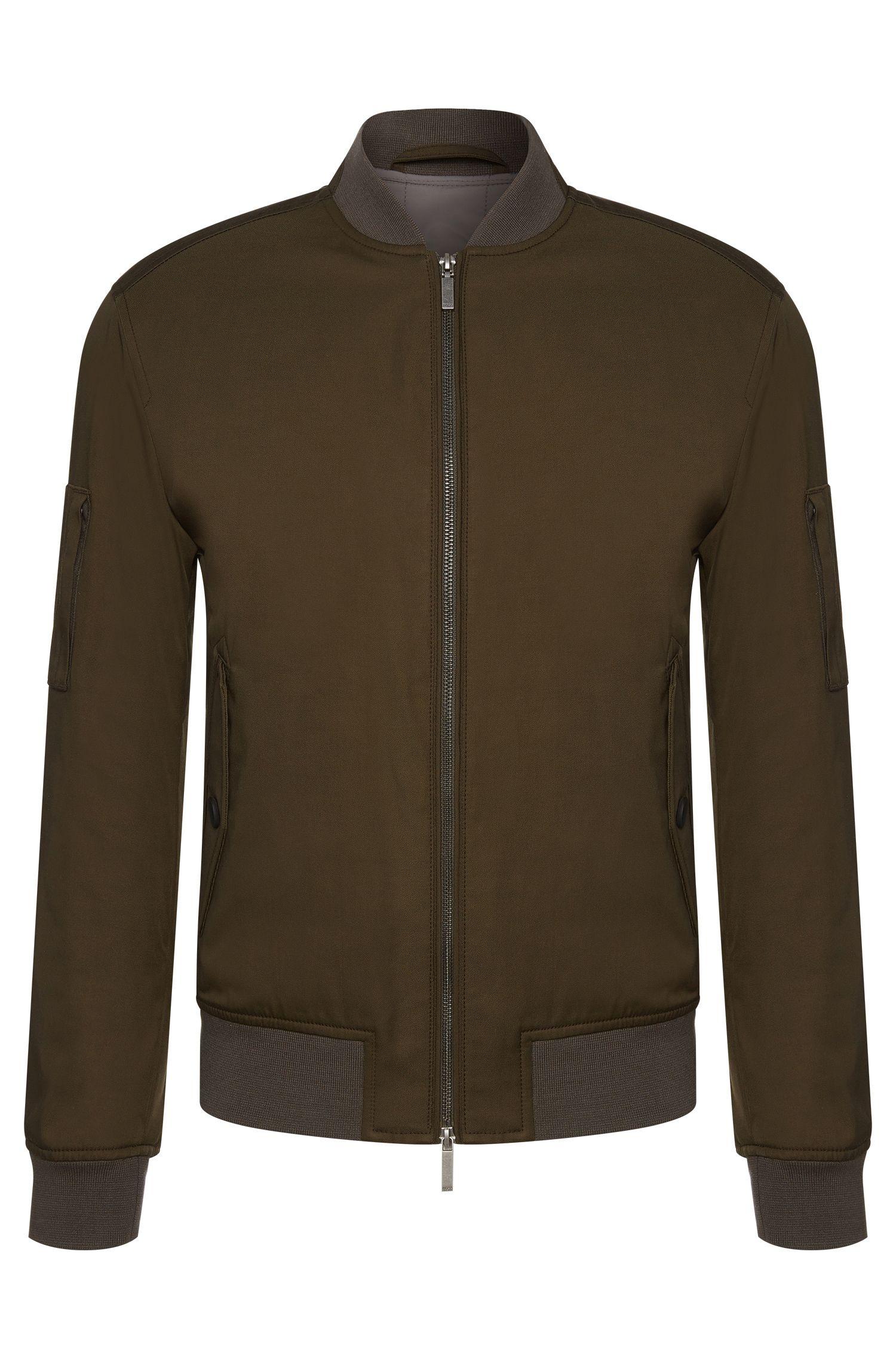 'Clone' | Cotton Blend Bomber Jacket