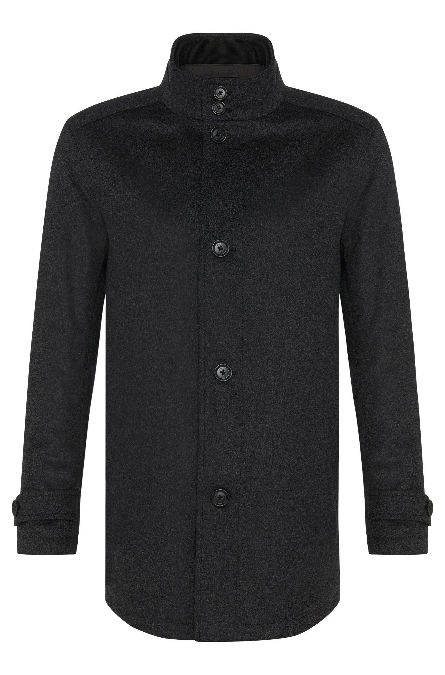 'Camlow' | Virgin Wool Cashmere Straight Coat