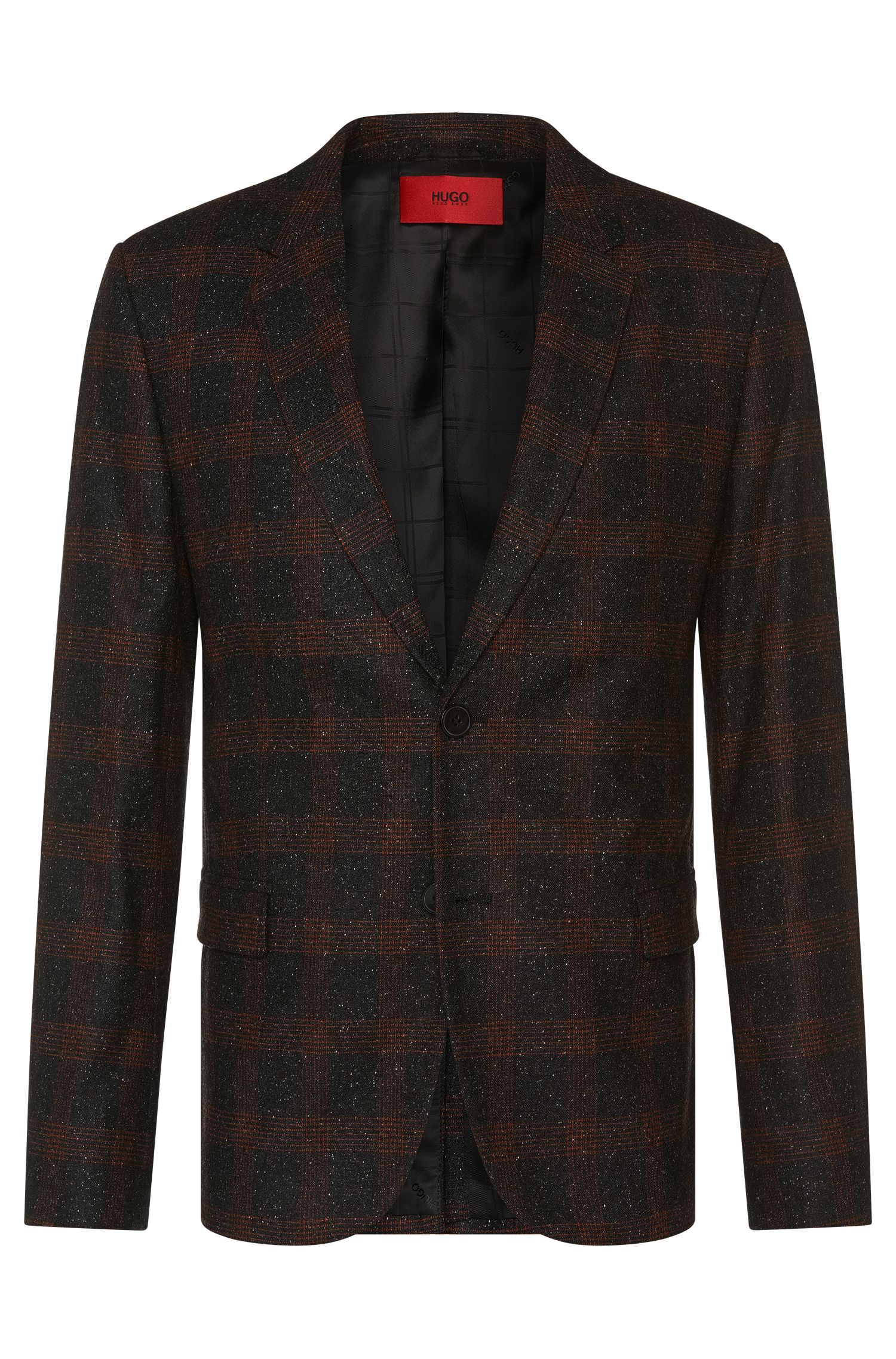 'Arelto' | Regular Fit, Stretch Virgin Wool Silk Blend Donegal Sport Coat