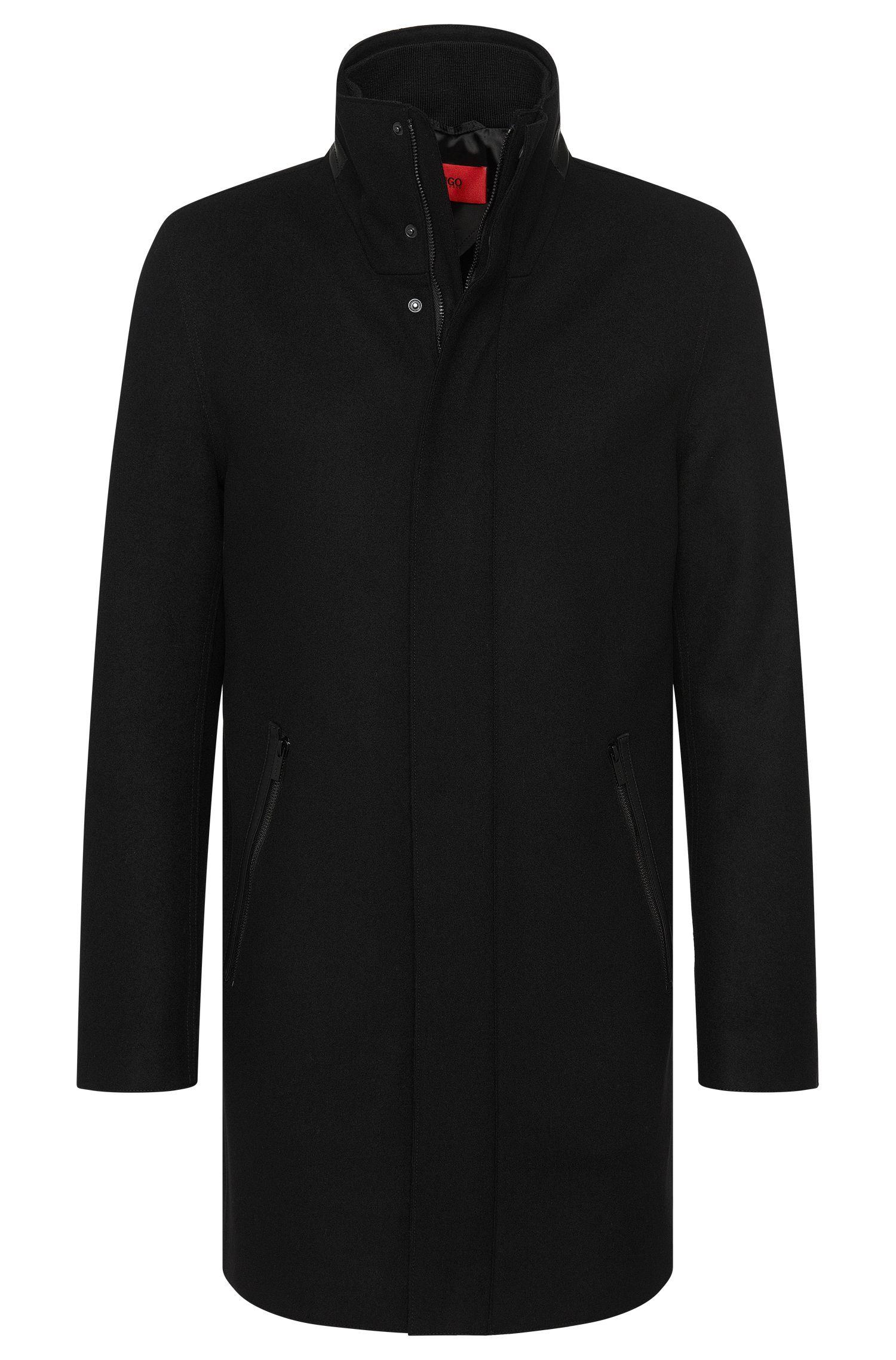 'Mantek' | Virgin Wool Cashmere Blend Coat