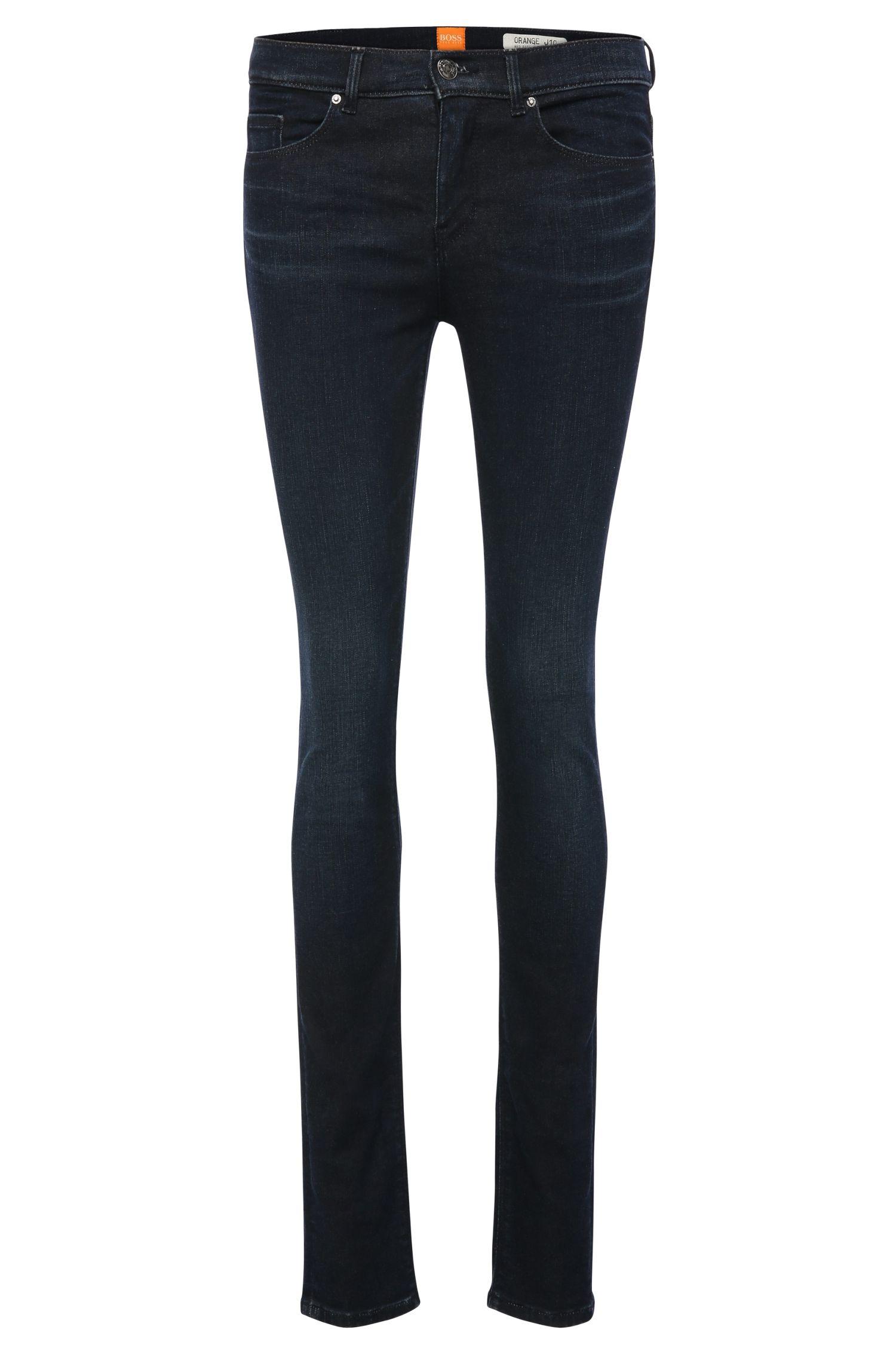 'OrangeJ10' | Stretch Cotton Blend Mid-Rise Jeans
