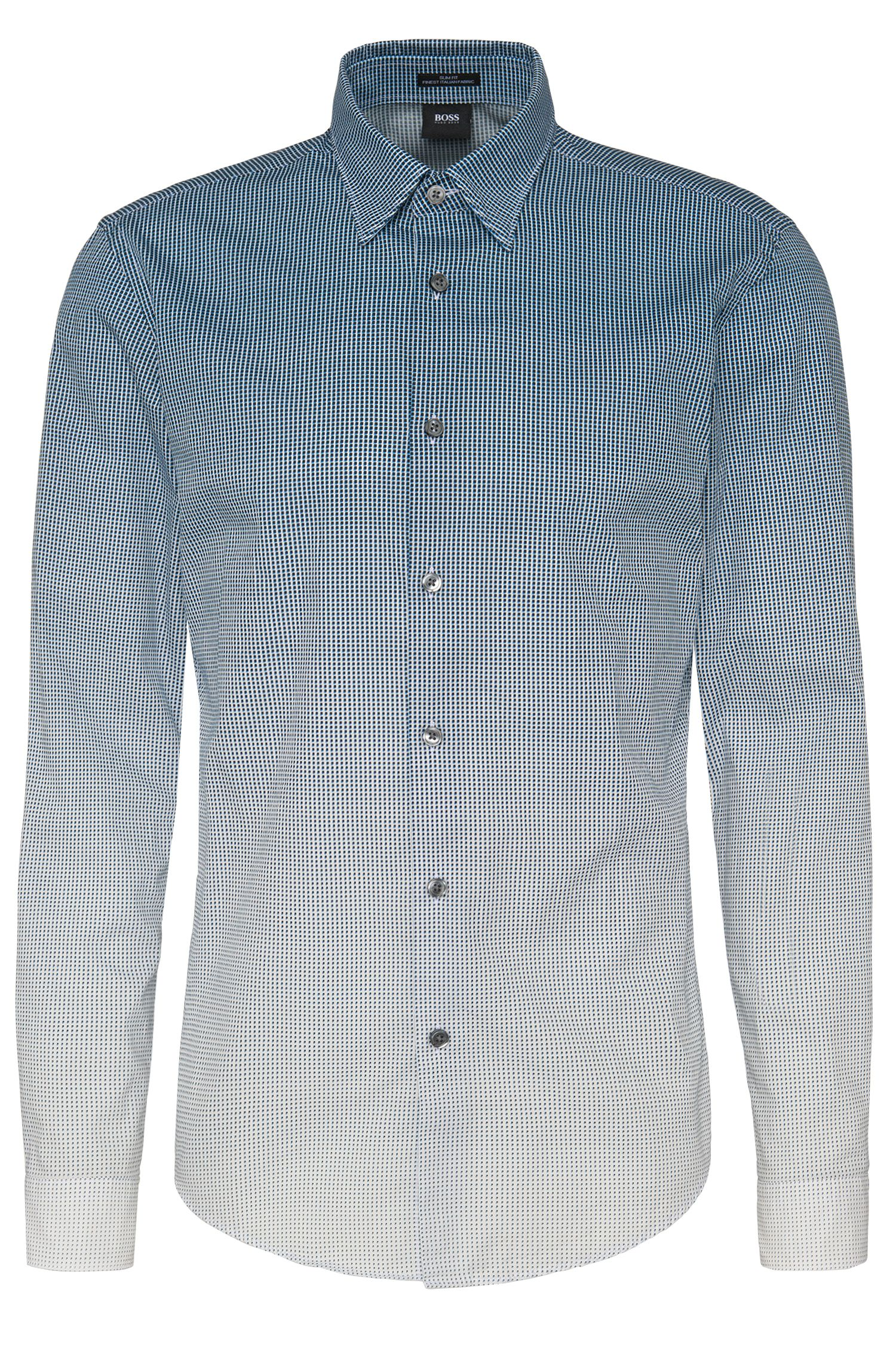 'Rodney FO' | Slim Fit, Cotton Button Down Shirt