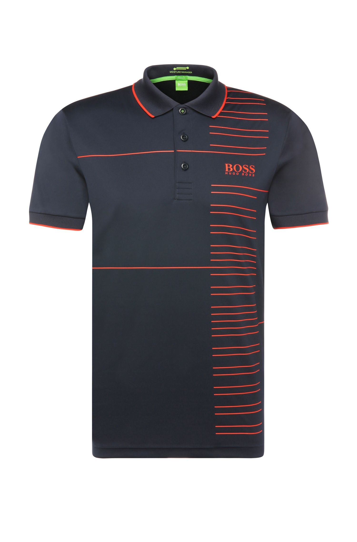 'Paddy Pro' | Modern Fit, Moisture Manager Stretch Polo Shirt