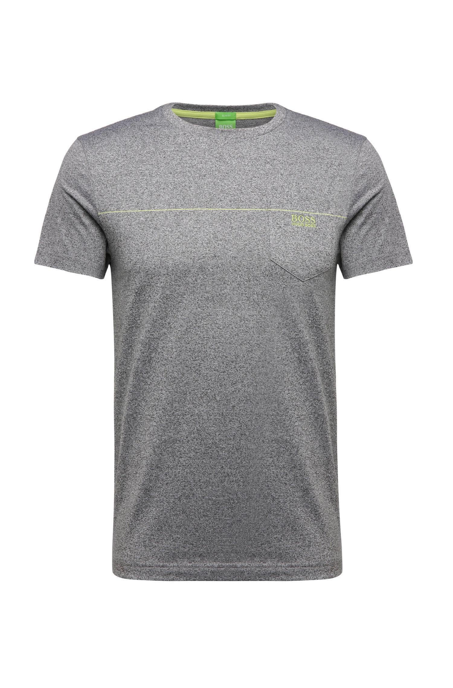'Tee' | Cotton Blend Melange T-Shirt