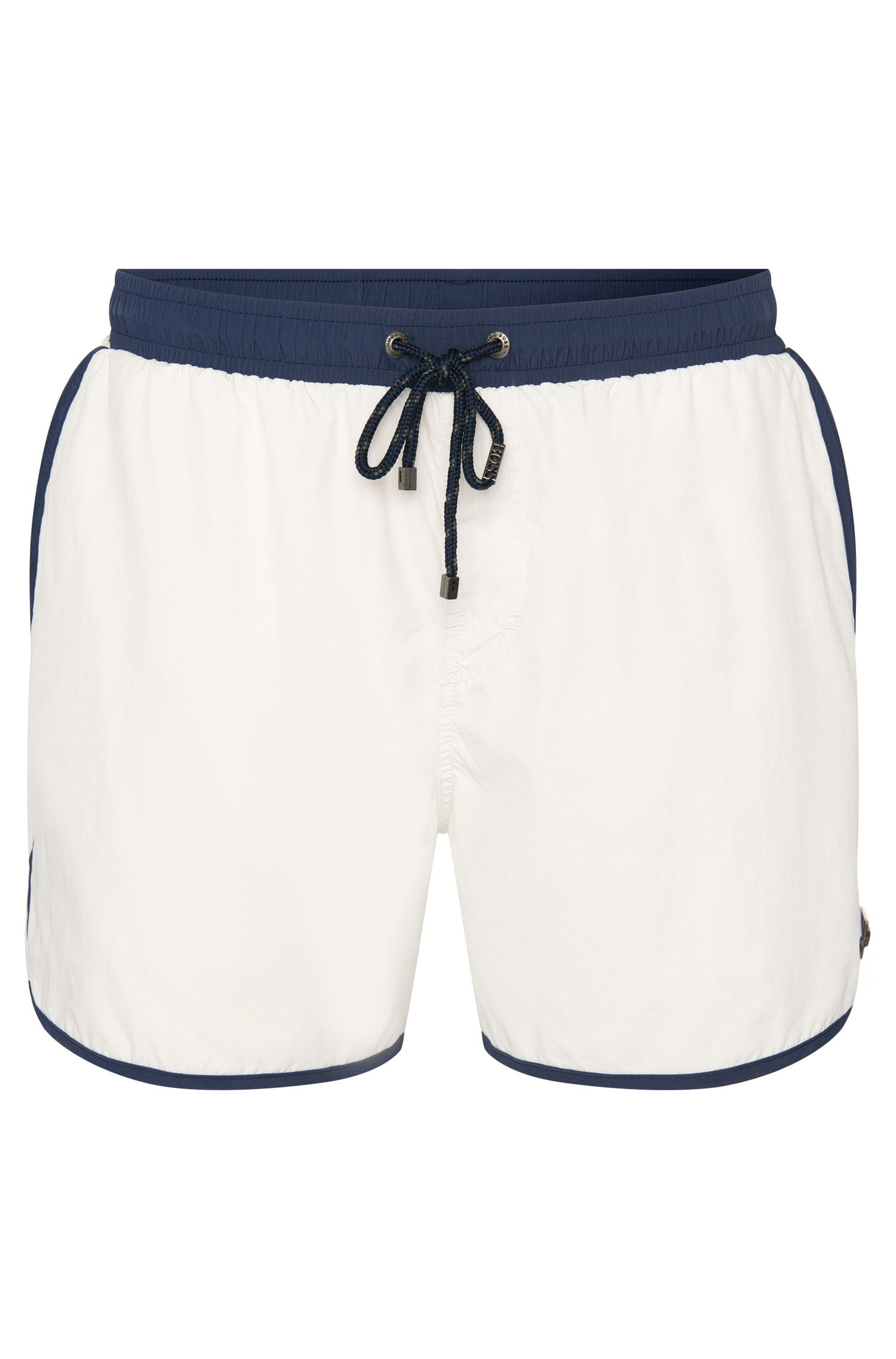 'Shellfish' | Quick Dry Colorblock Swim Trunks