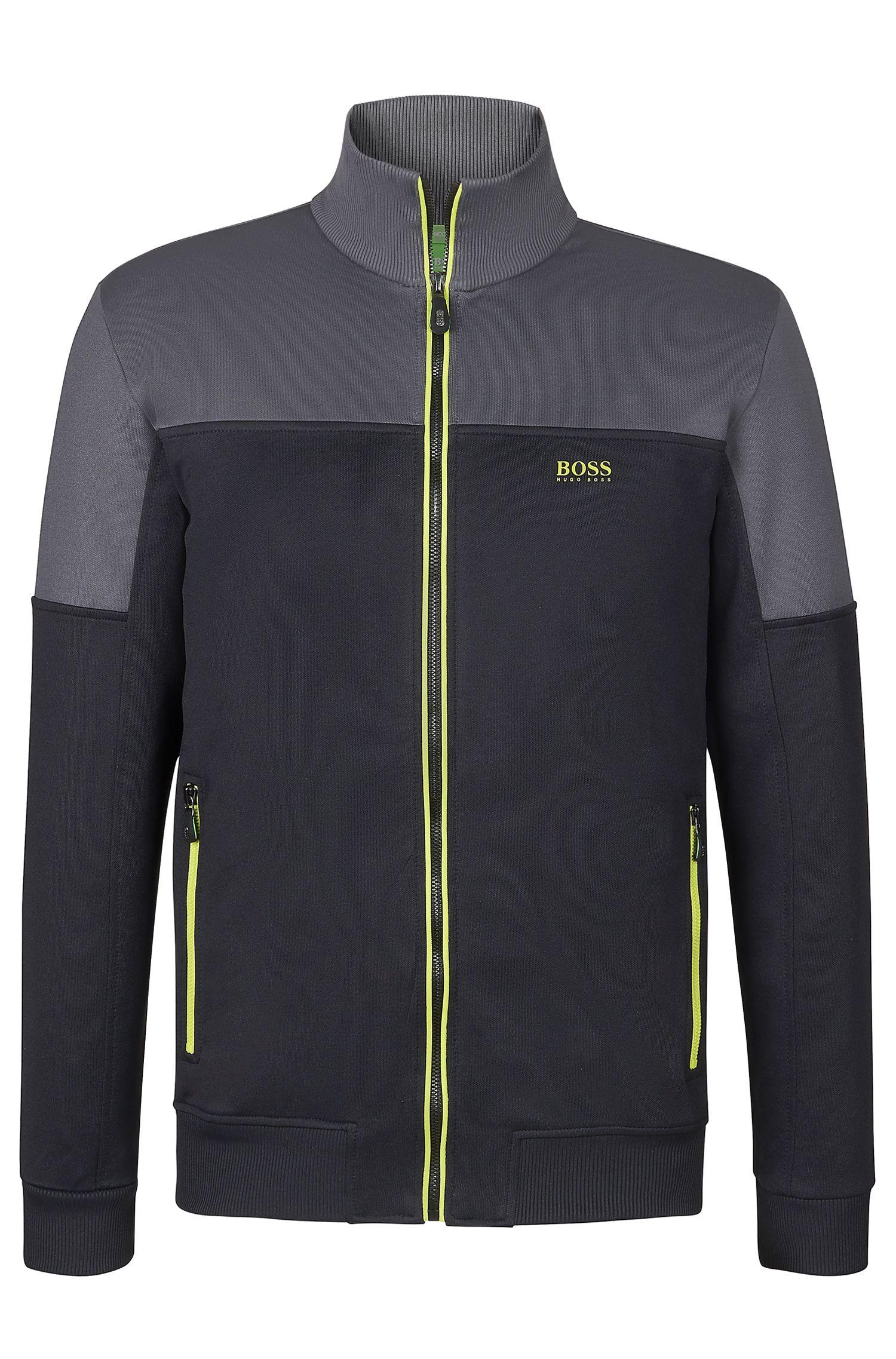 'Skaz' | Cotton Blend Zip Up Track Jacket