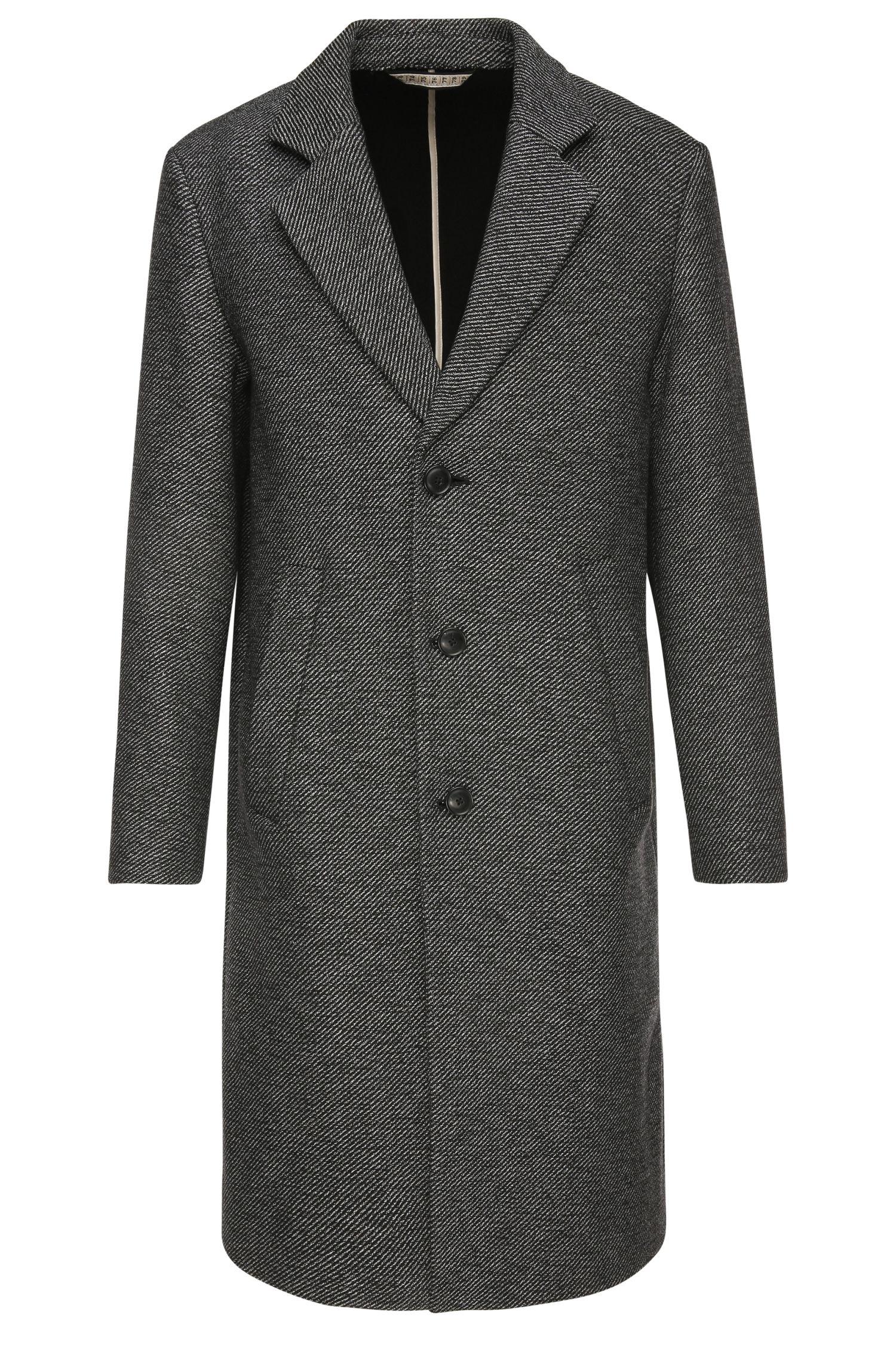 'Bear'   Wool Cotton Blend Double Twill Coat