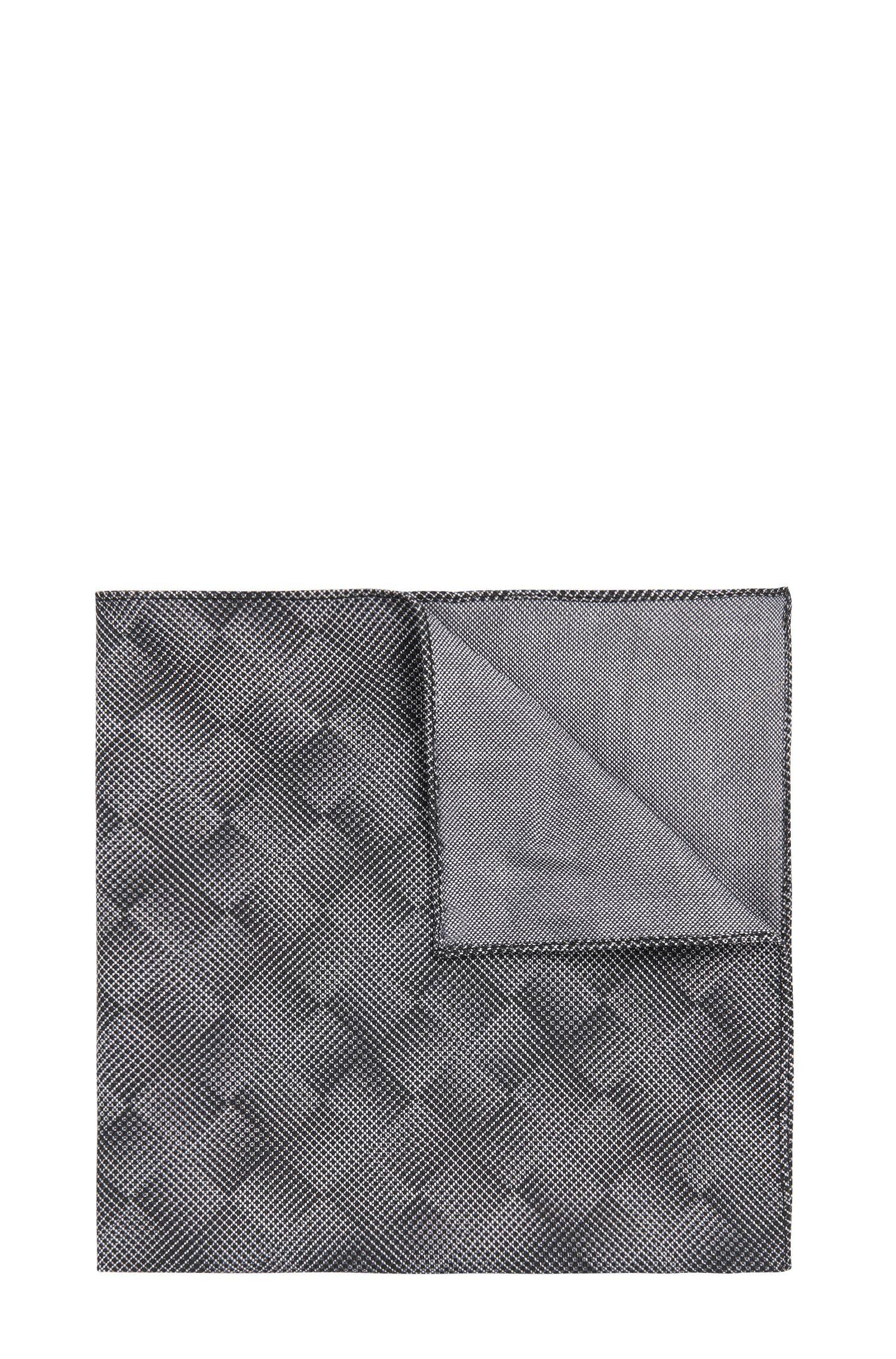 'Pocket sq. cm 33x33' | Italian Cotton Patterned Pocket Square