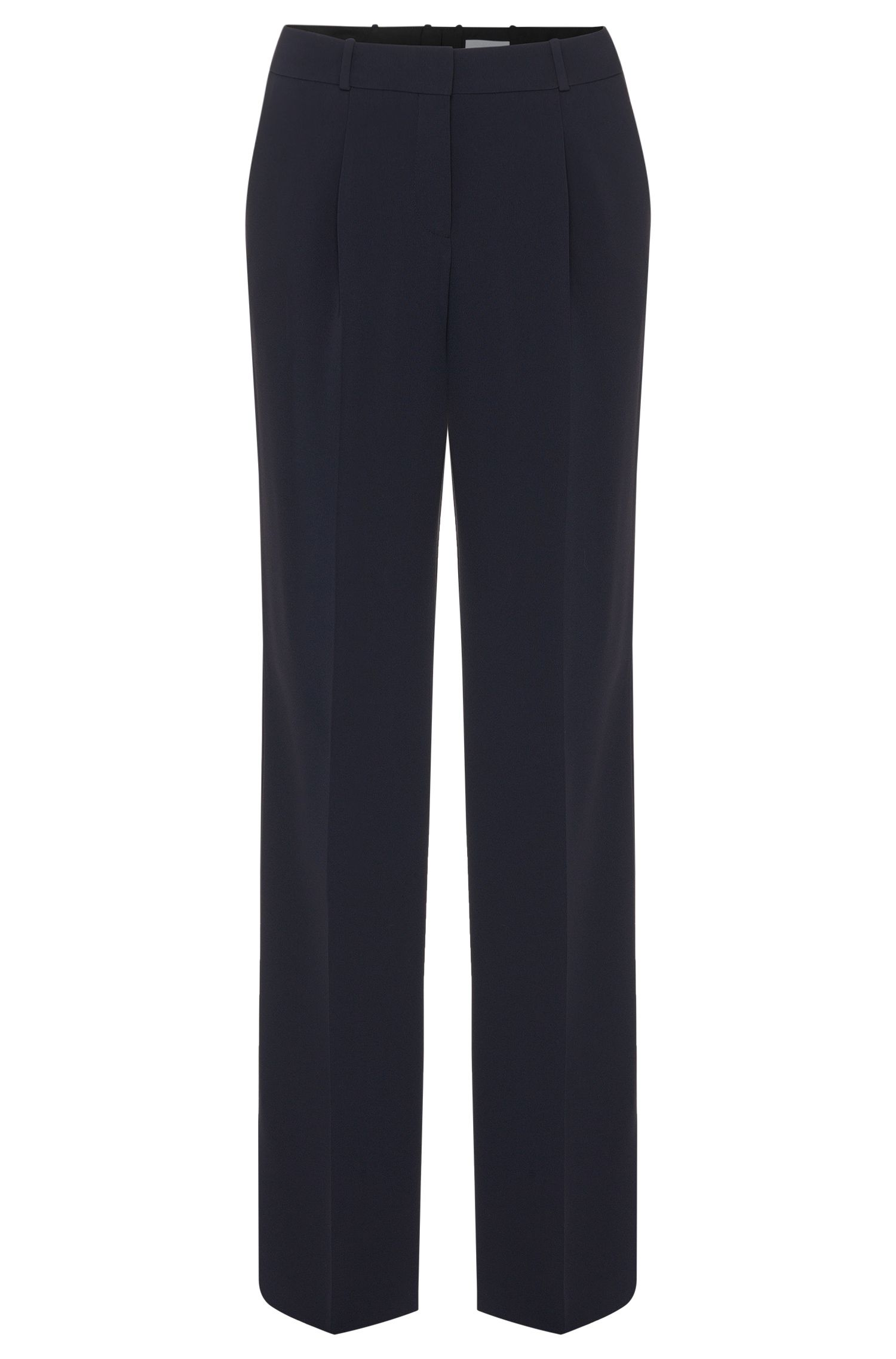 'Tewena' | Relaxed Fit Wide Leg Dress Pants