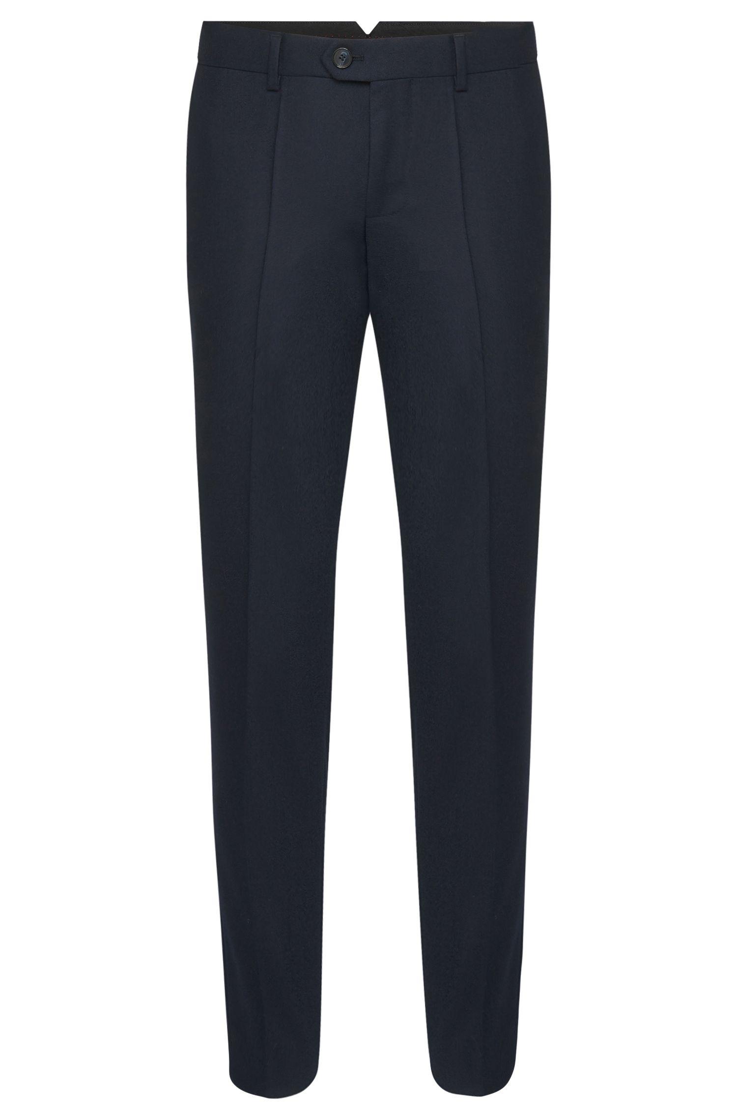 'Hening' | Tapered Fit, Virgin Wool Dress Pants