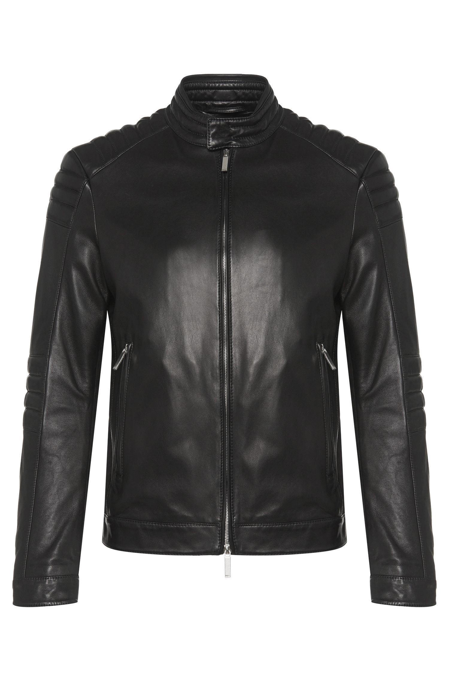 'Narveyn' | Lambskin Biker Jacket