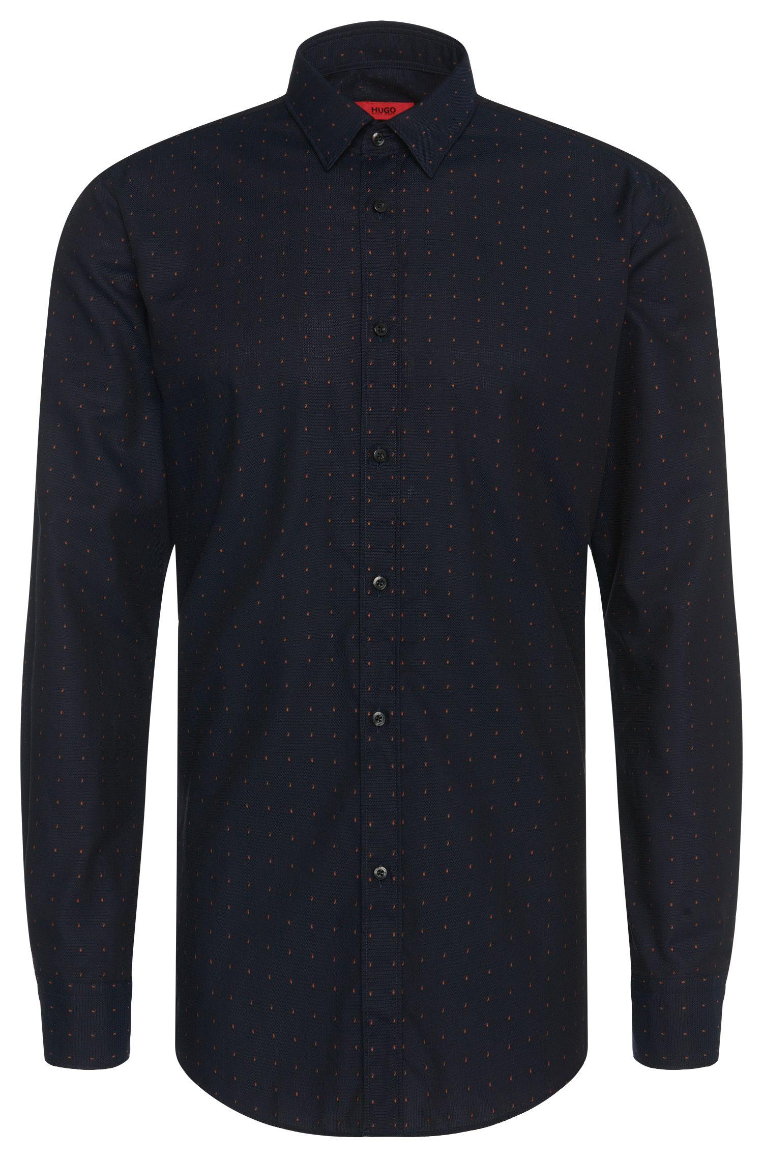 'Elisha' | Slim Fit, Fil Coupe Cotton Button Down Shirt