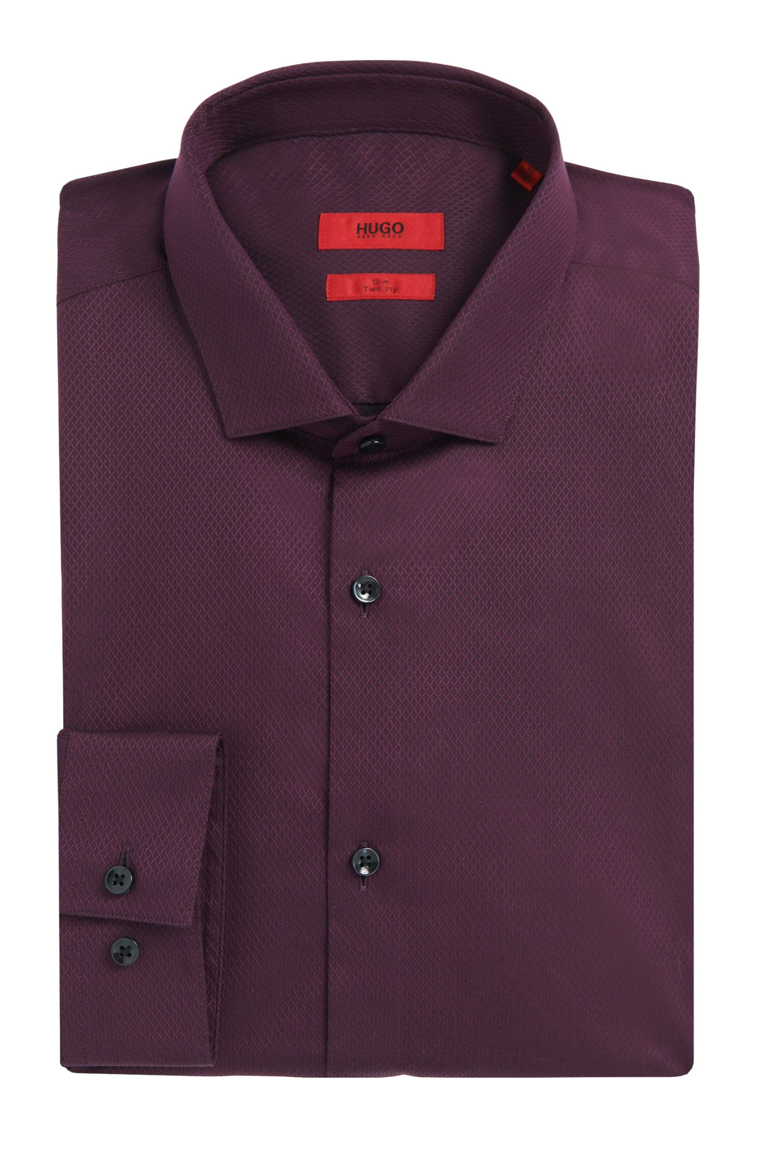 'Erondo' | Slim Fit, 2-Ply Cotton Dress Shirt