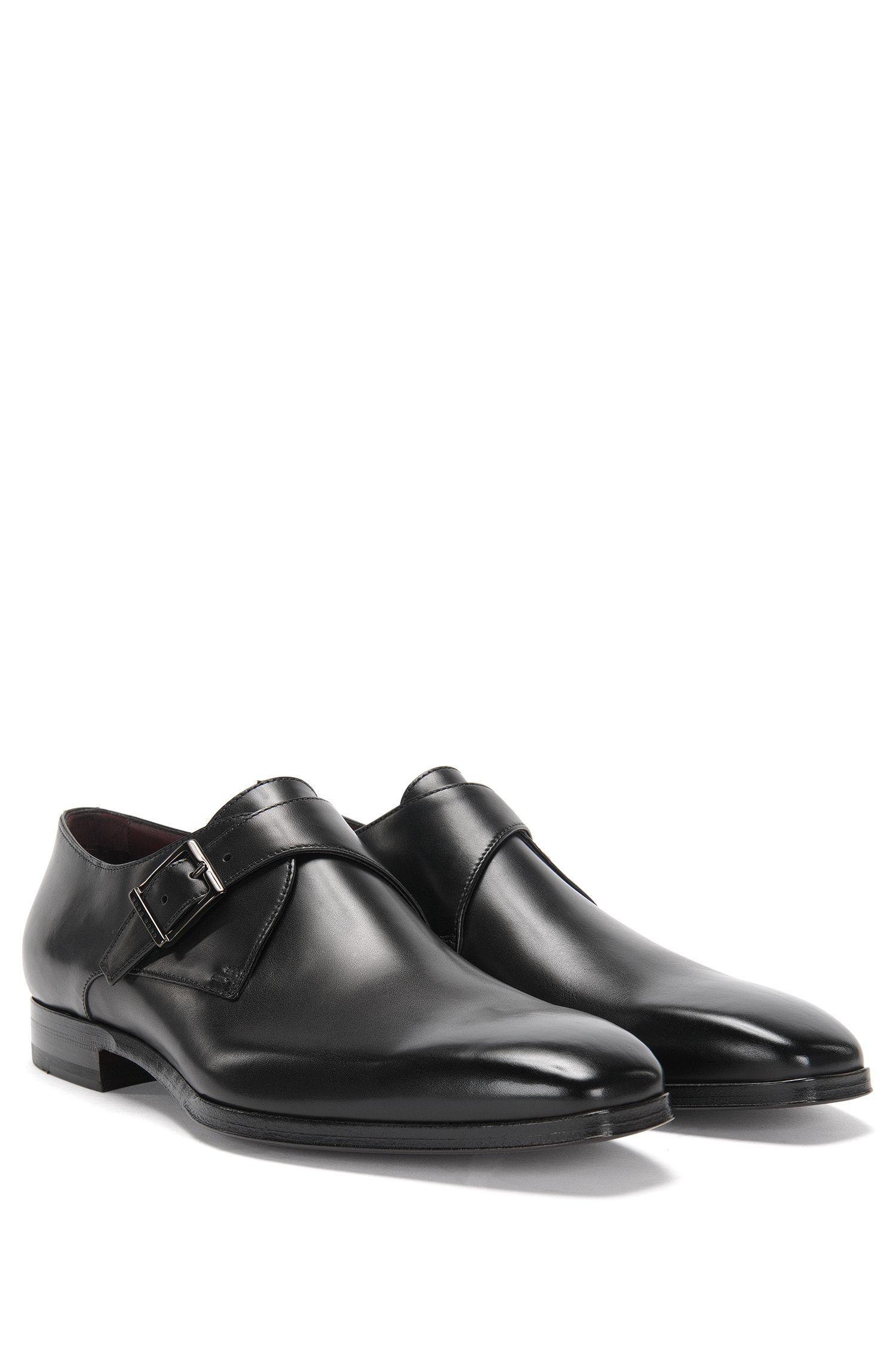 'T-Club Monk Itpt' | Italian Calfskin Monk Strap Dress Shoes