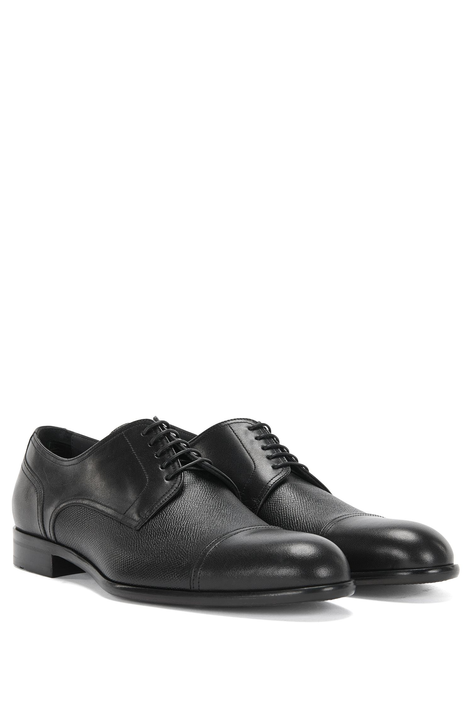 'Manhattan Derb Mxct' | Italian Calfskin Cap Toe Derby Dress Shoes