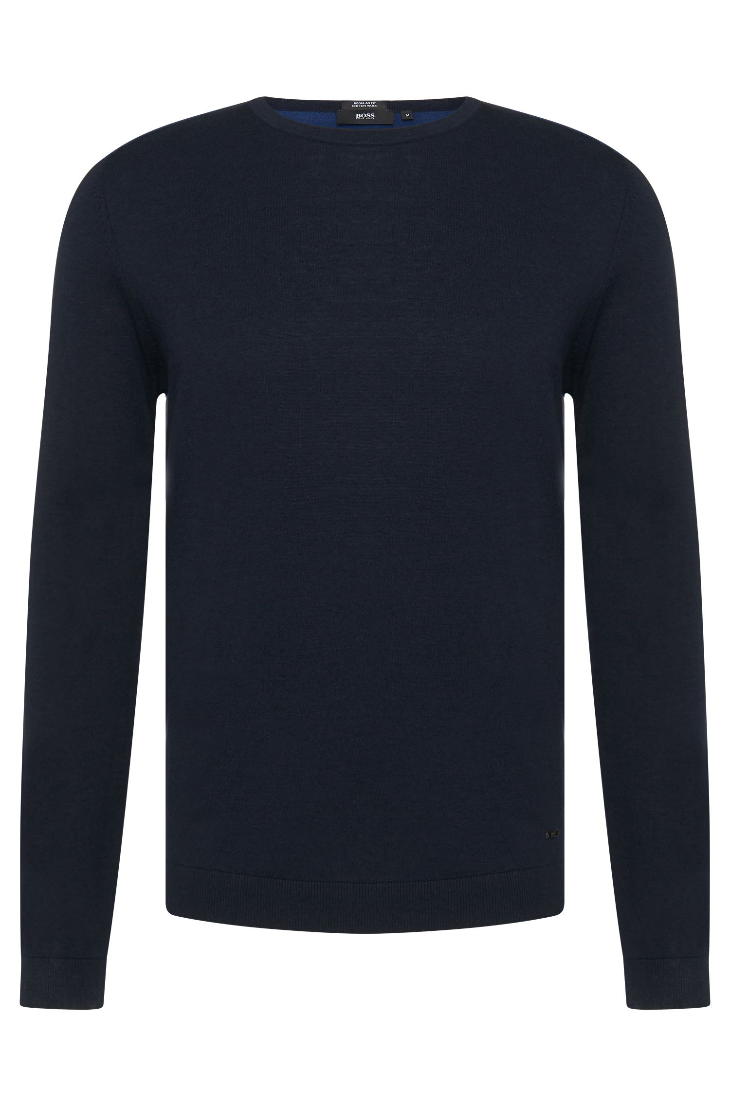 'Bocci' | Virgin Wool Cotton Colorblocked Sweater