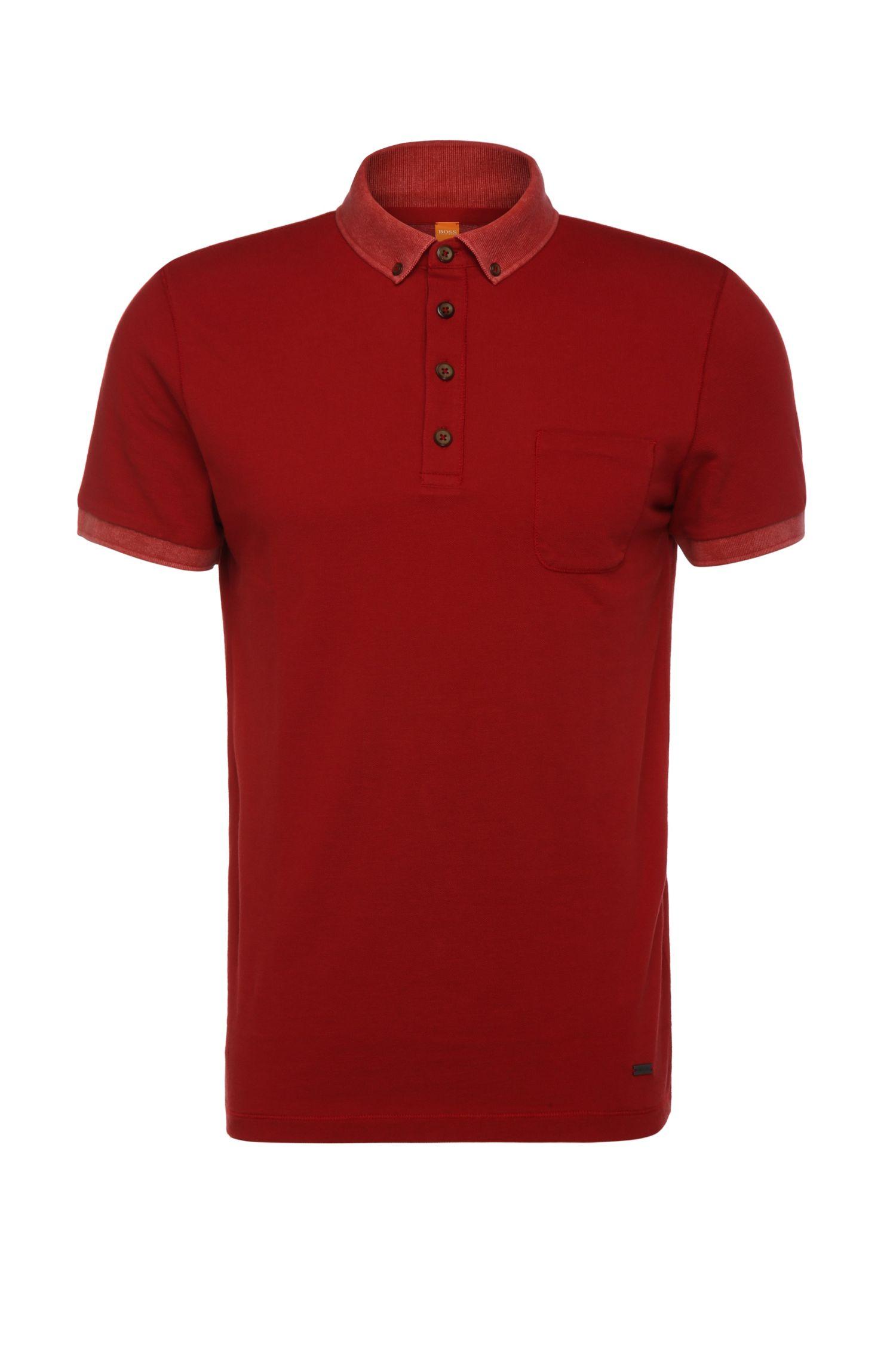 'Prynce' | Slim Fit, Cotton Piqué Polo Shirt