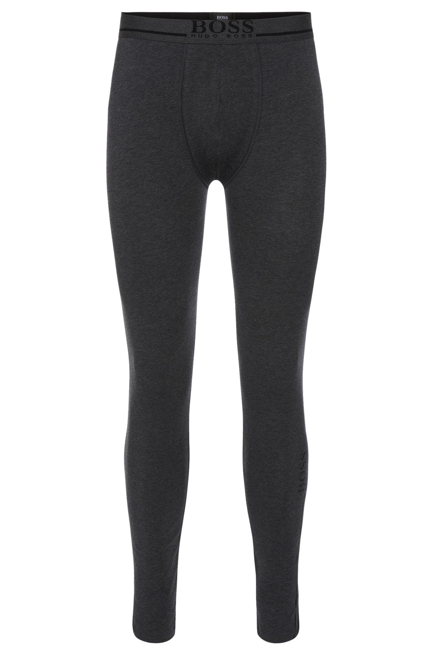 'Long John 24 Logo' | Stretch Cotton Long John Pants