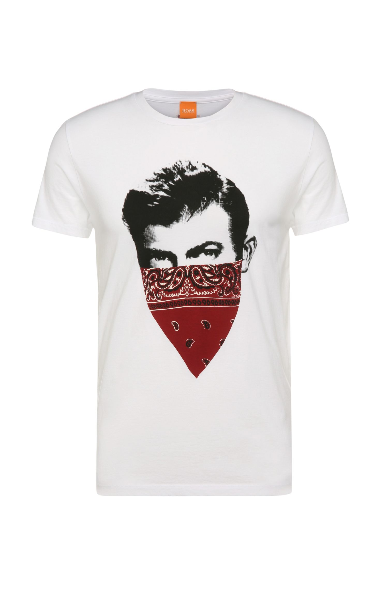 'Tayé' | Cotton Screen Print T-Shirt