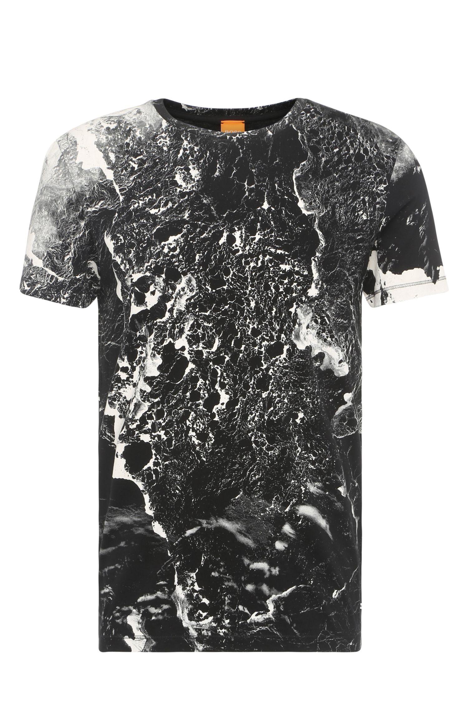 'Tayé'   Cotton Printed T-Shirt