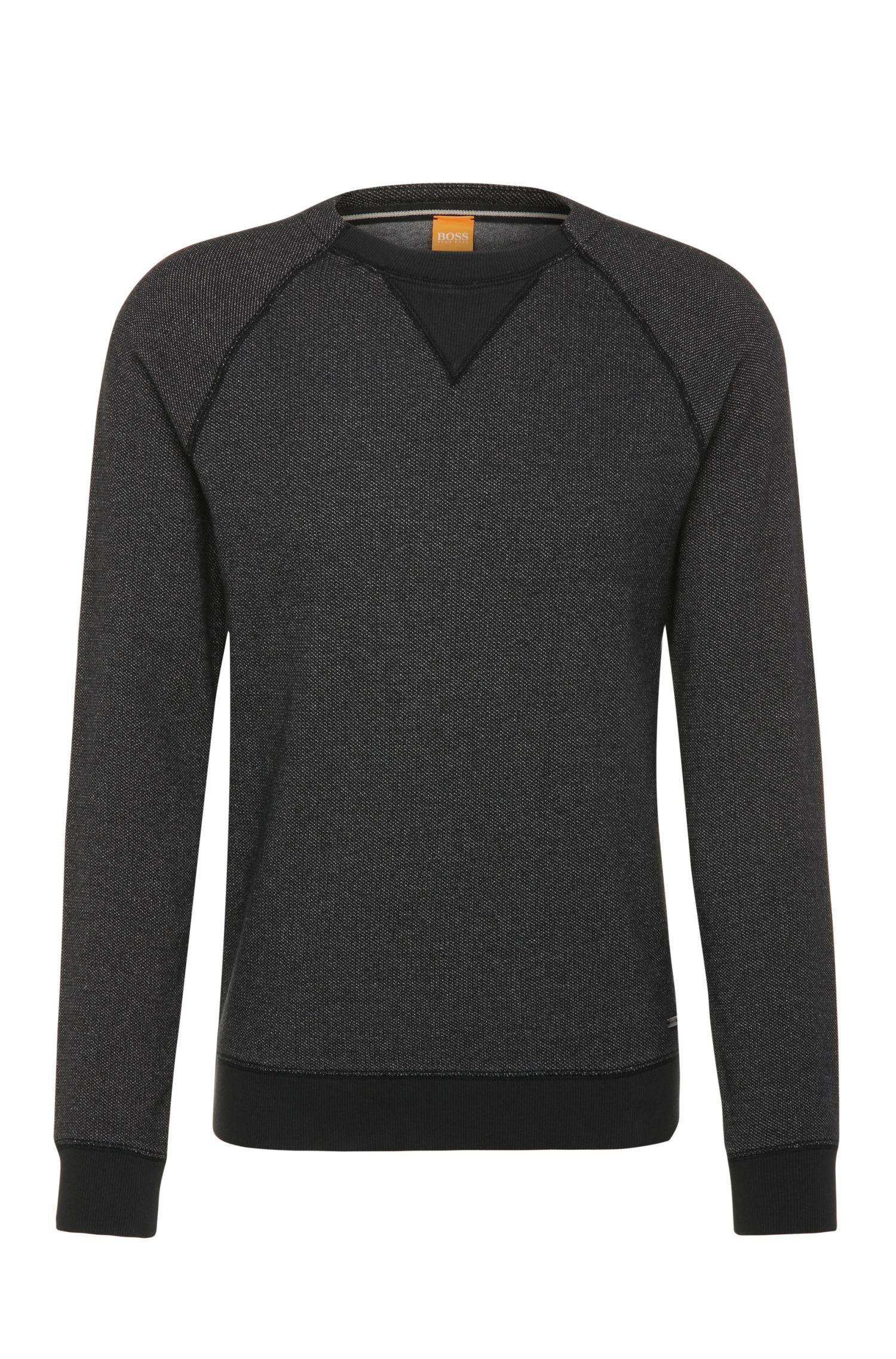 'Warys' | Cotton Contrast Sweatshirt
