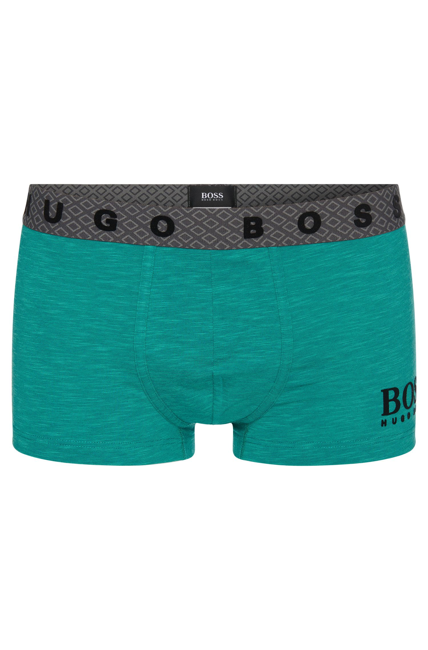 'Boxer Heritage' | Stretch Cotton Logo Boxer Briefs