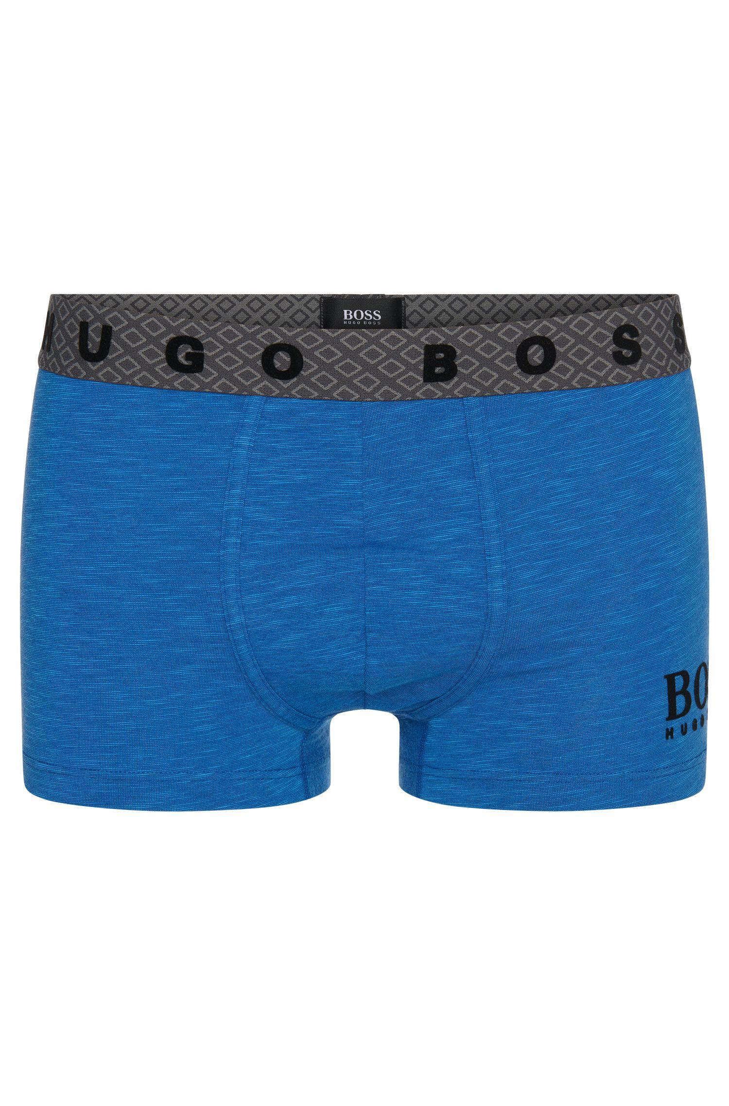 'Boxer Heritage' | Stretch Cotton Logo Boxer Briefs