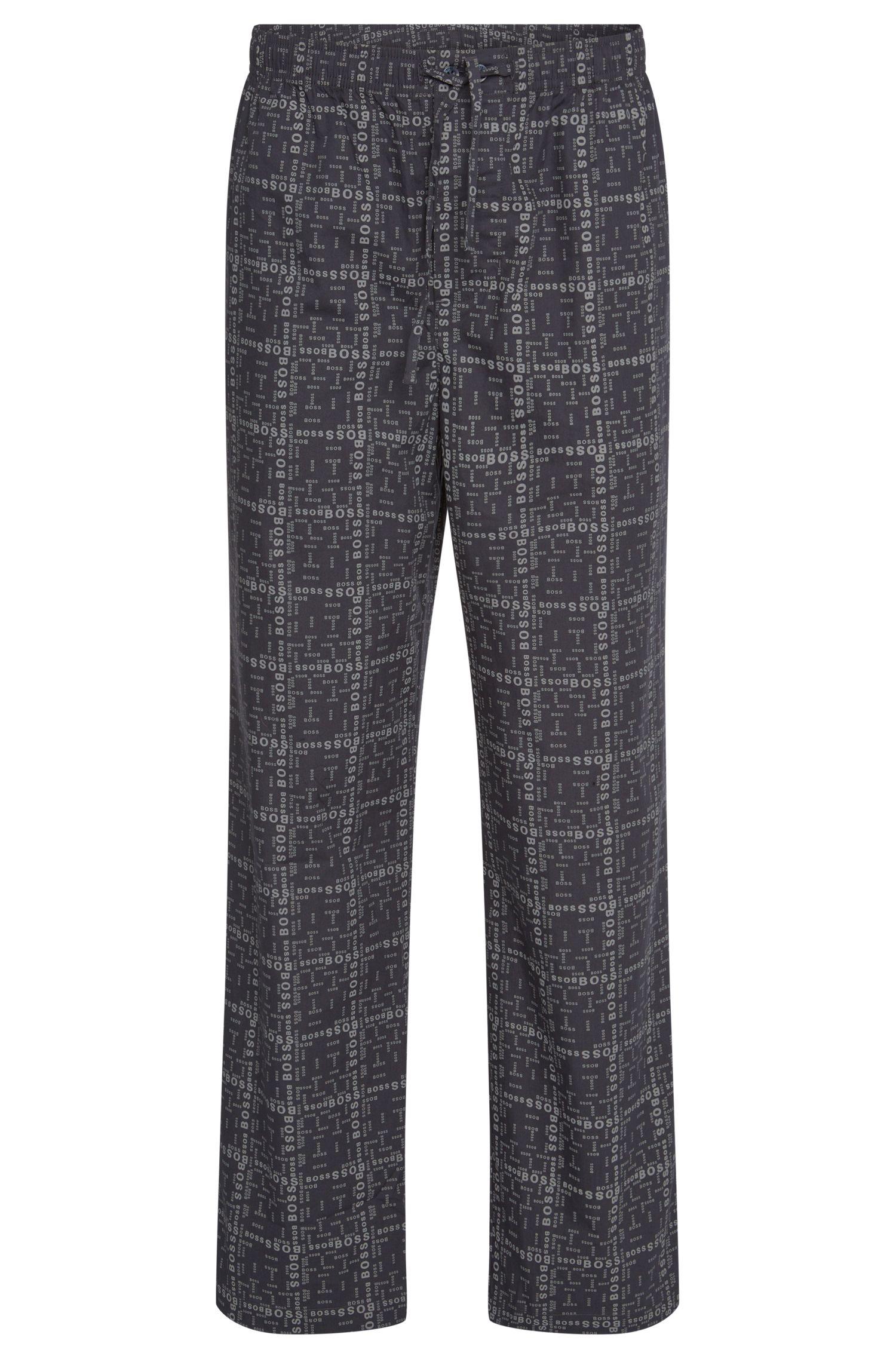 'Long Pant CW' | Cotton Logo Lounge Pants