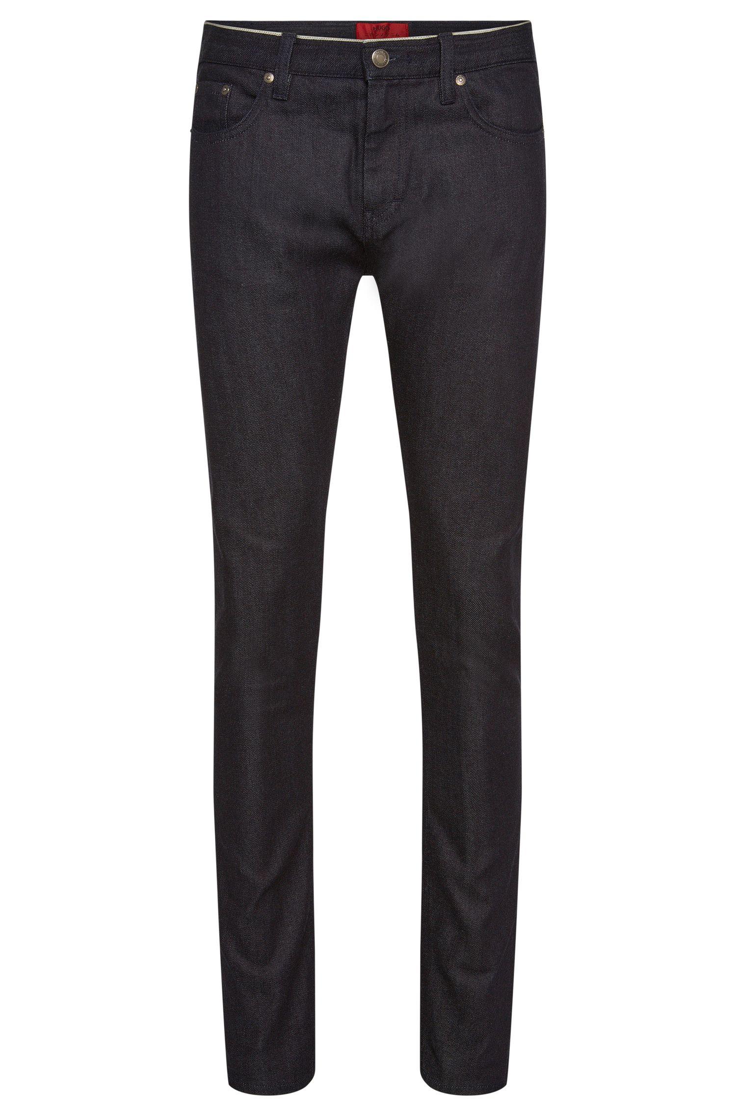 'HUGO 733' | Skinny Fit, 10.25 oz Stretch Cotton Selvedge Jeans