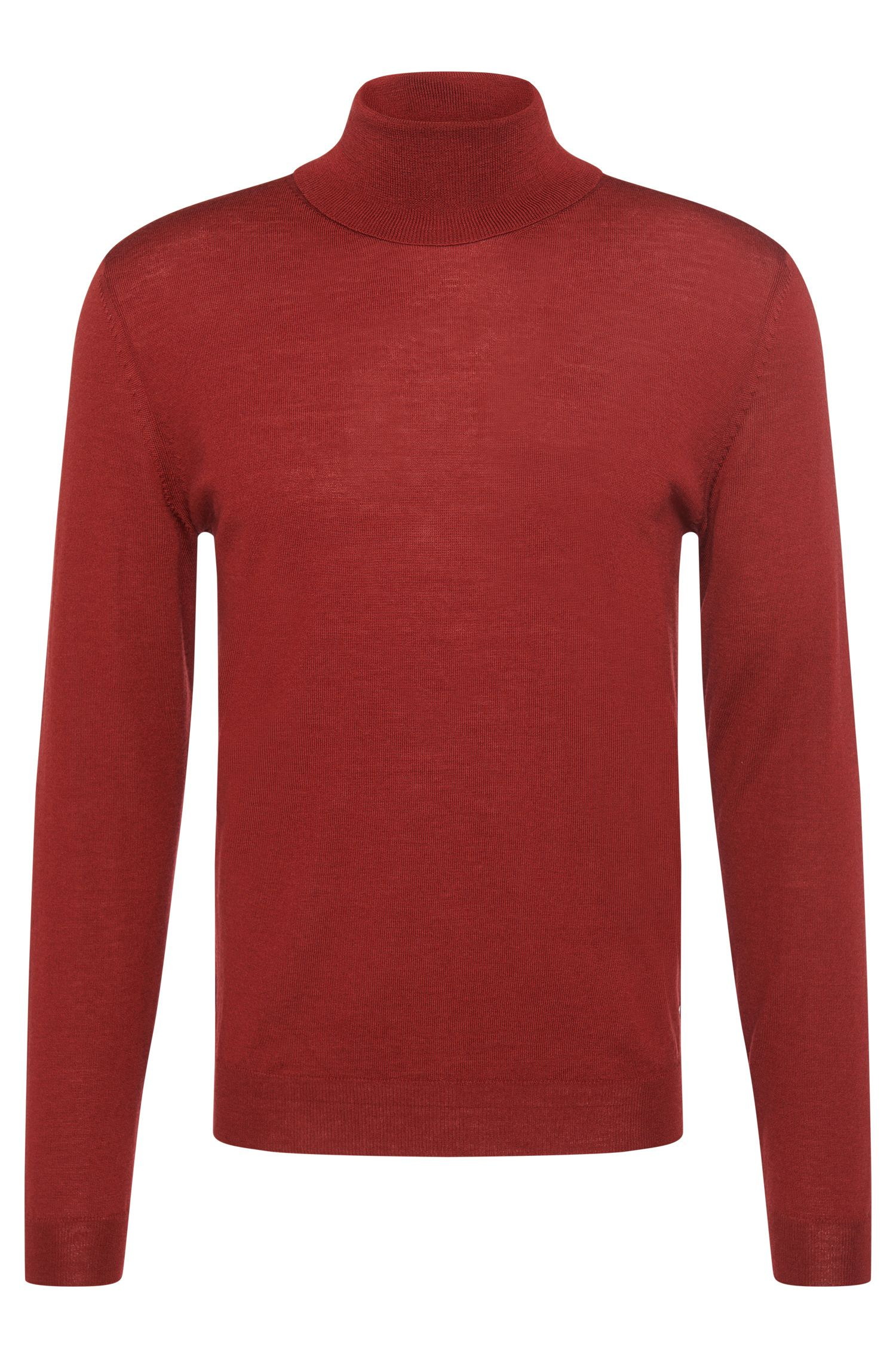 'Musso-B' | Virgin Wool Turtleneck Sweater