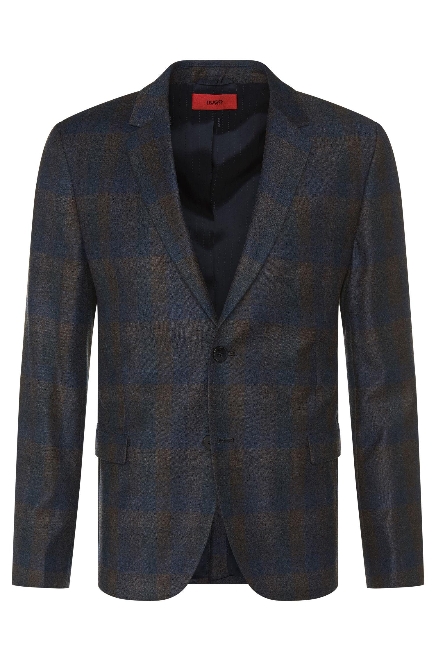 'Arelto' | Regular Fit, Virgin Wool Sport Coat