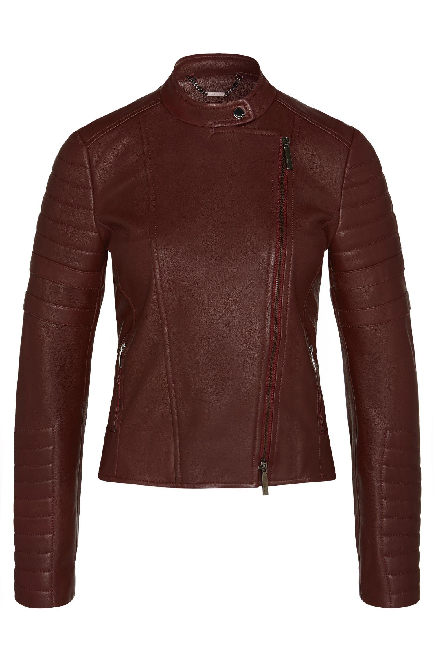 'Sahena' | Lambskin Moto Jacket