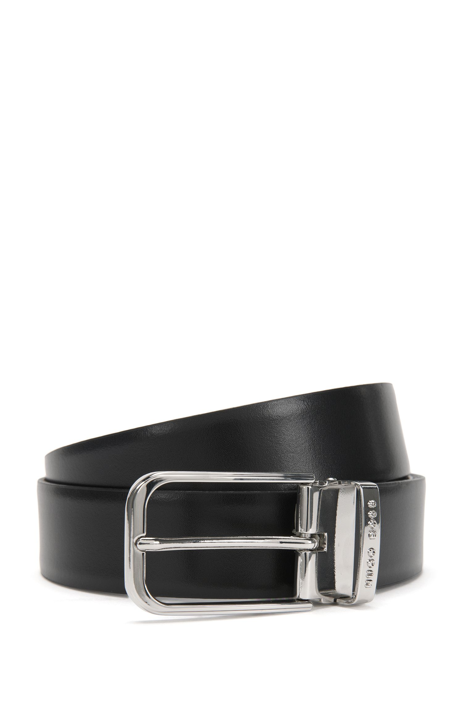 'Garlef Gb35 Ps' | Reversible Italian Leather Belt