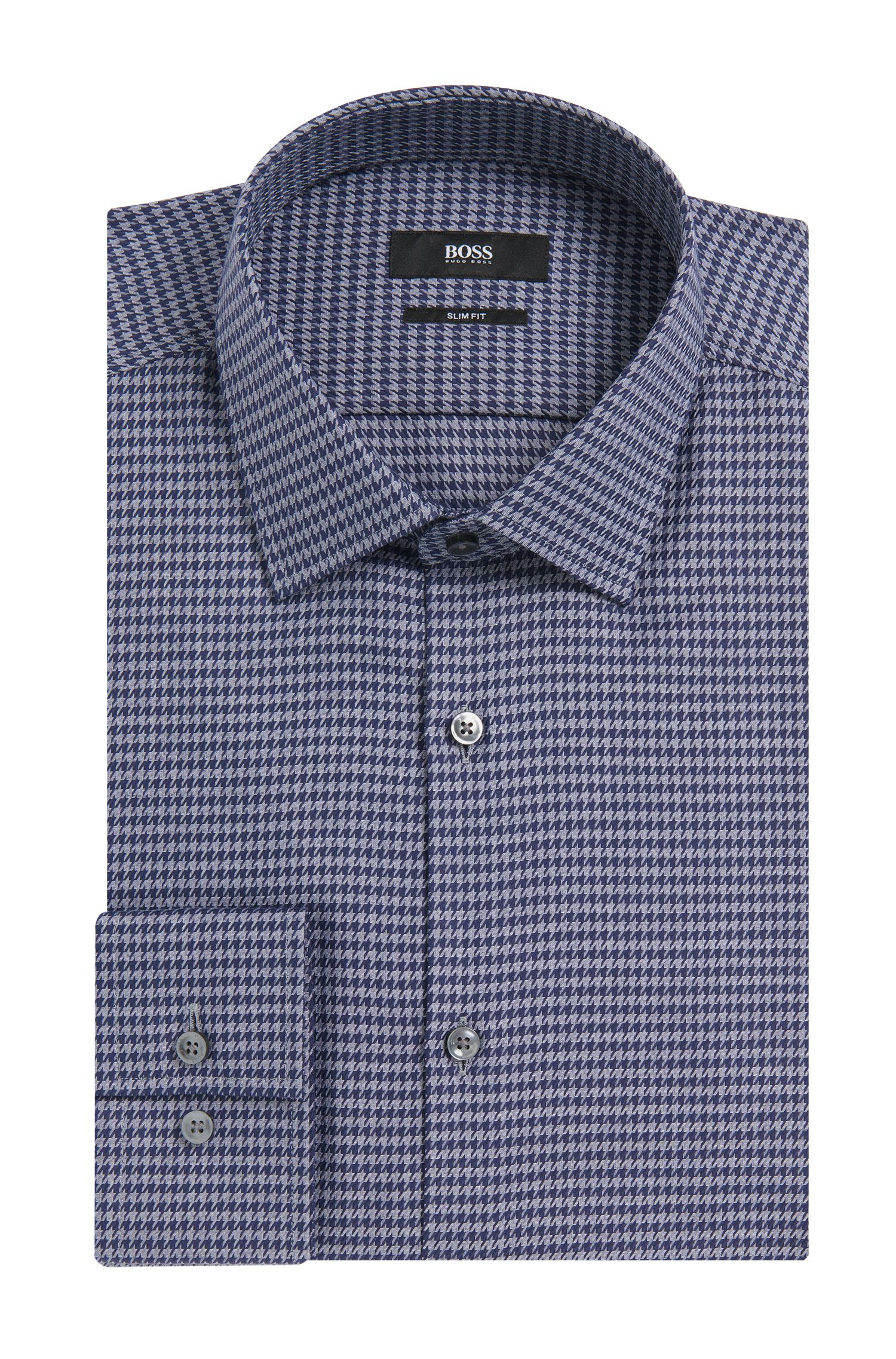 'Jenno' | Slim Fit, Cotton Dress Shirt