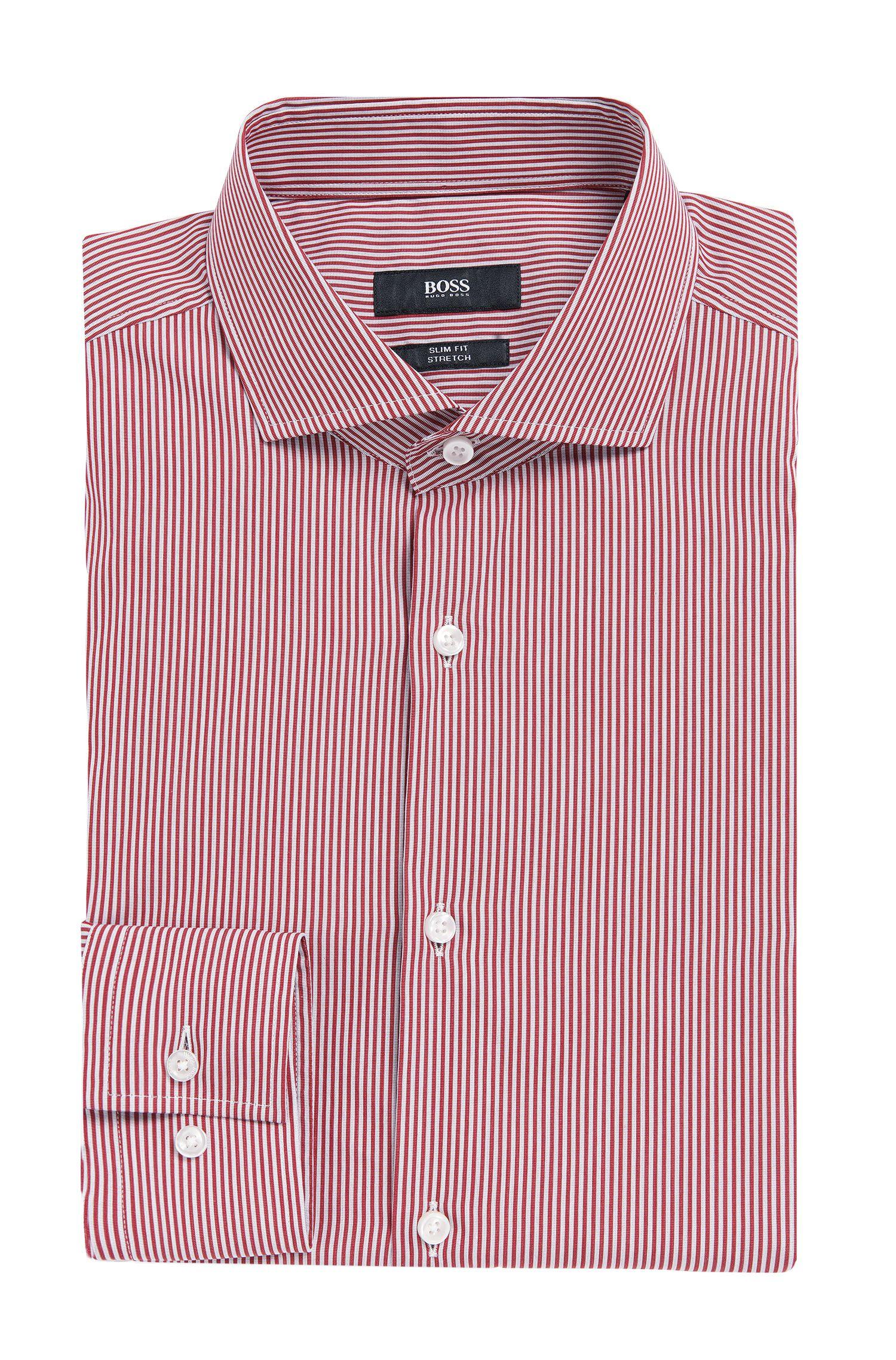 'Jason' | Slim Fit, Stretch Cotton Blend Dress Shirt