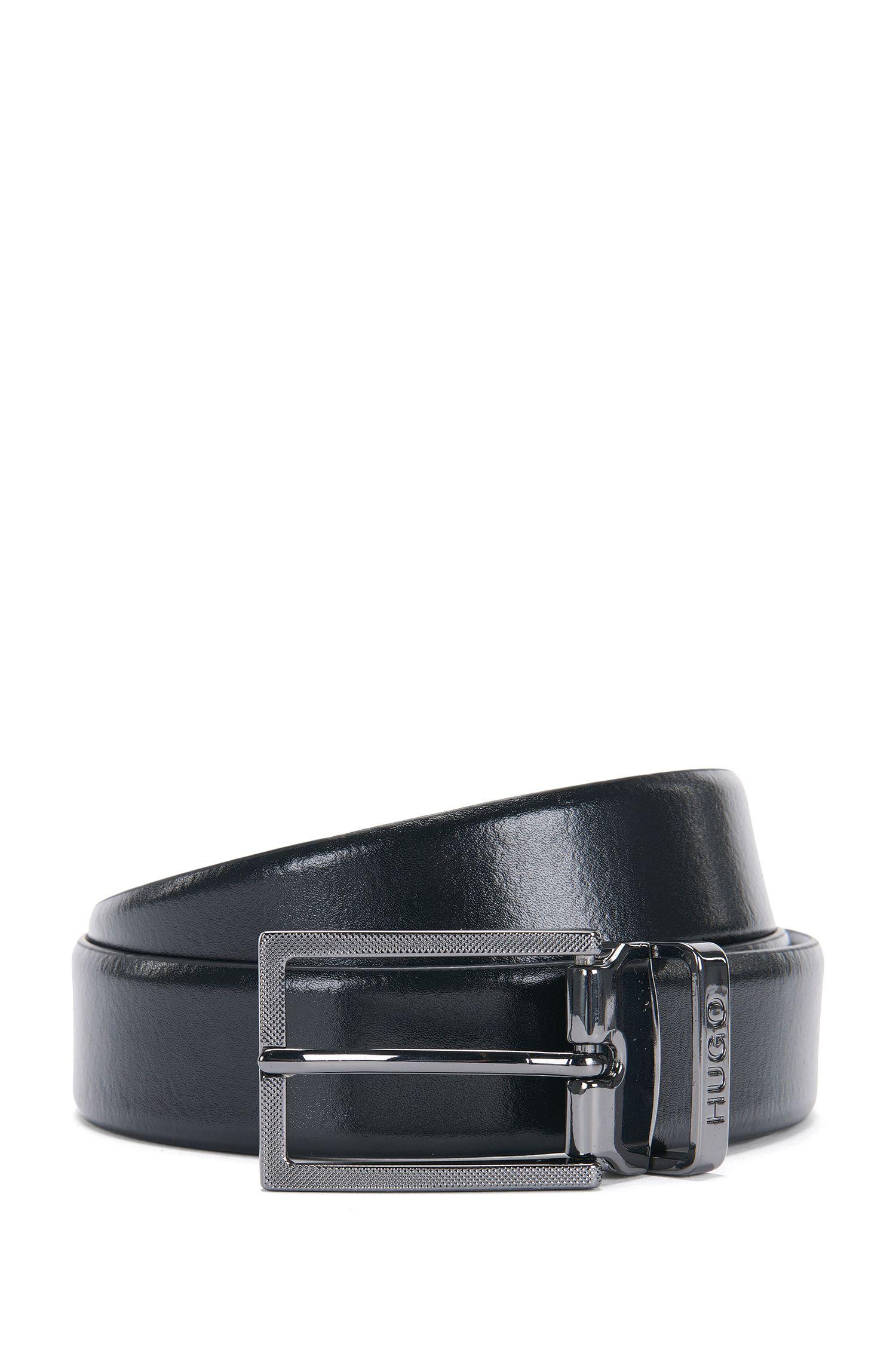 'C Gair Gb30 Pp'   Italian Leather Reversible Belt