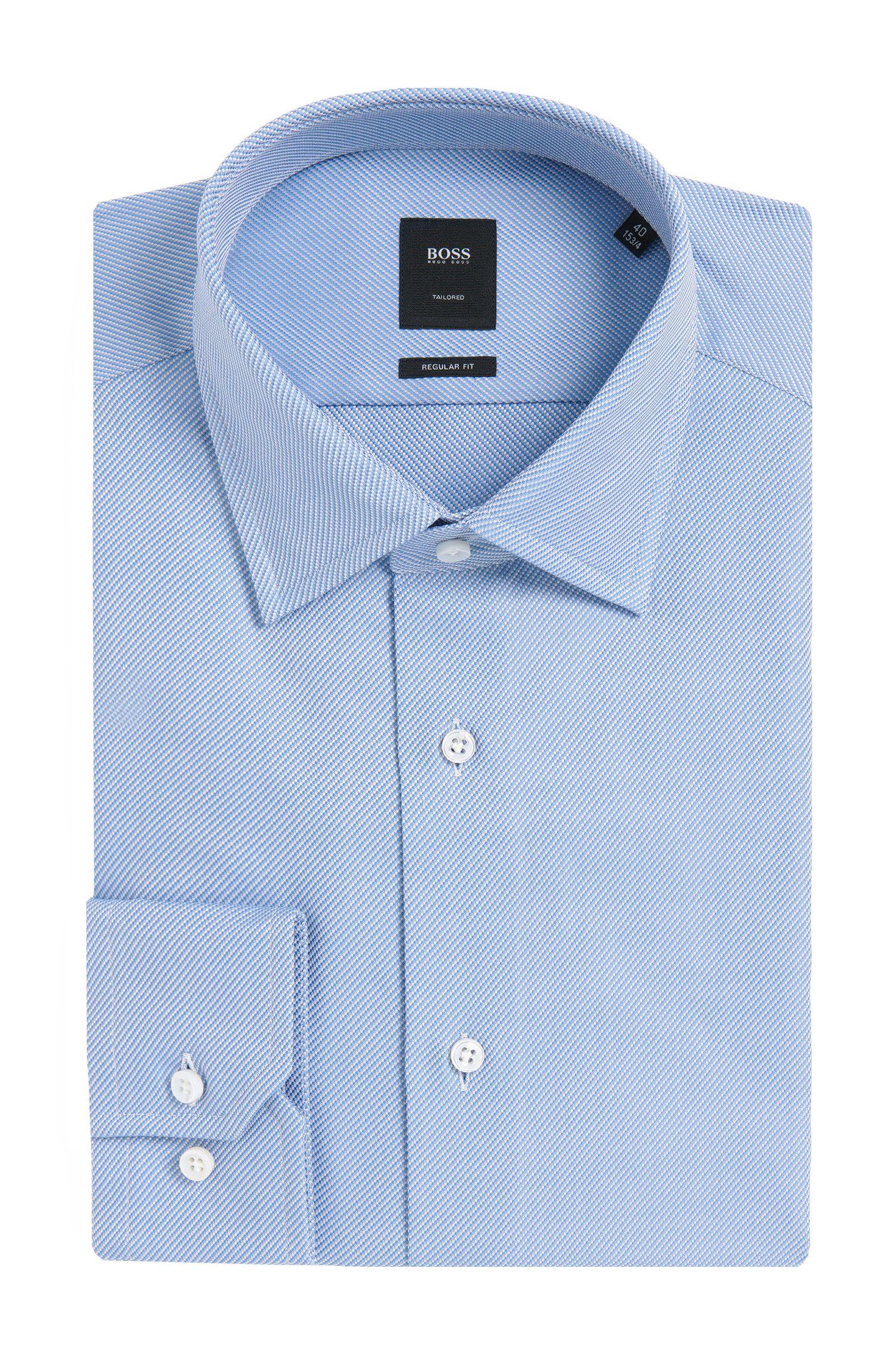 'T-Stuart' | Regular Fit, Italian Cotton Dress Shirt