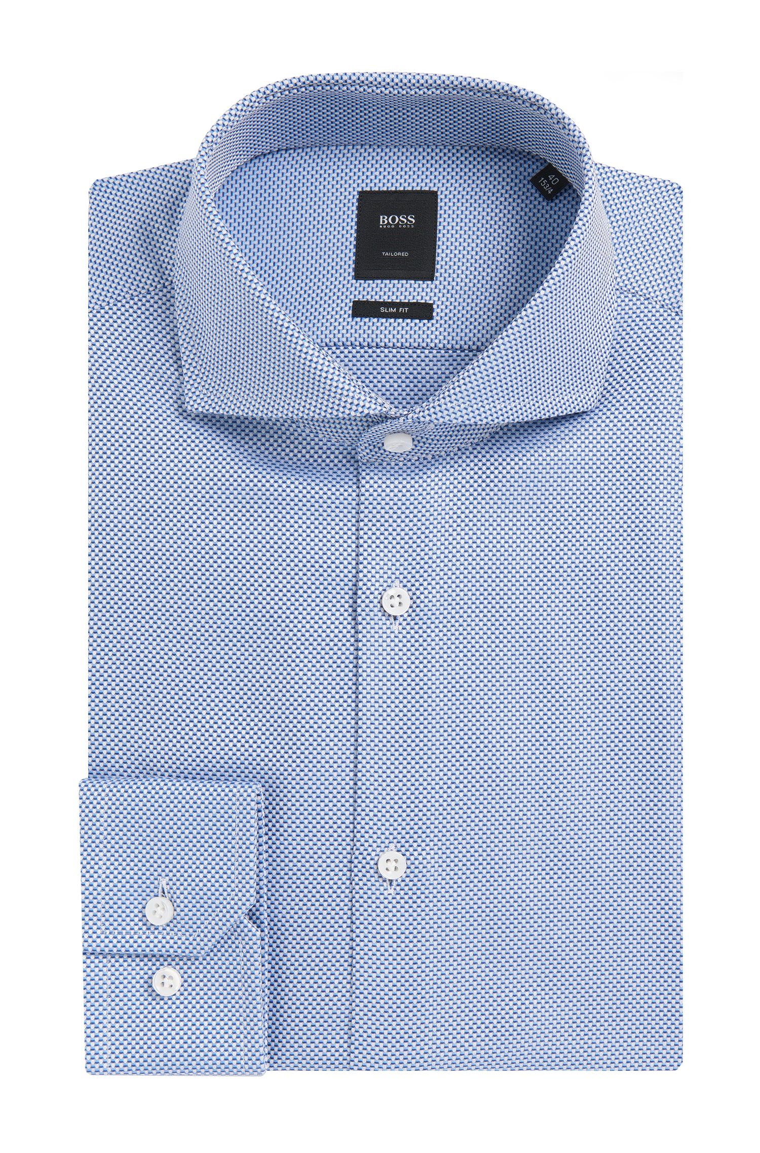 'T-Christo' | Slim Fit, Italian Cotton Dress Shirt