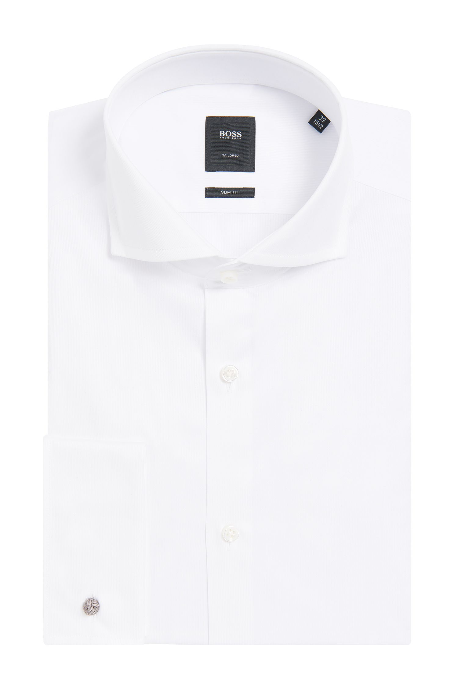 'T-Yacob' | Slim Fit, Italian Cotton French Cuff Dress Shirt