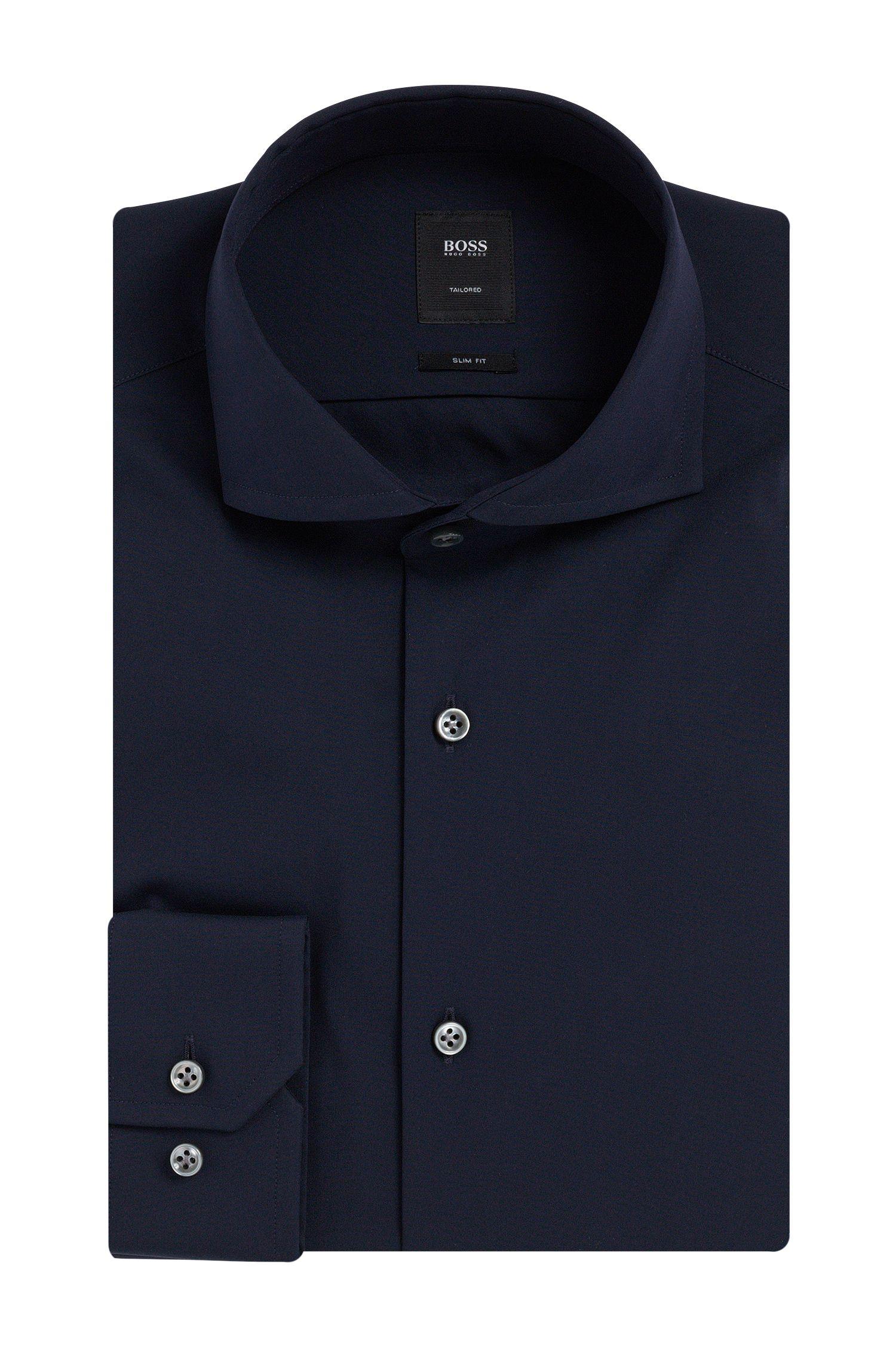 'T-Christo'   Slim Fit, Italian Stretch Cotton Blend Dress Shirt