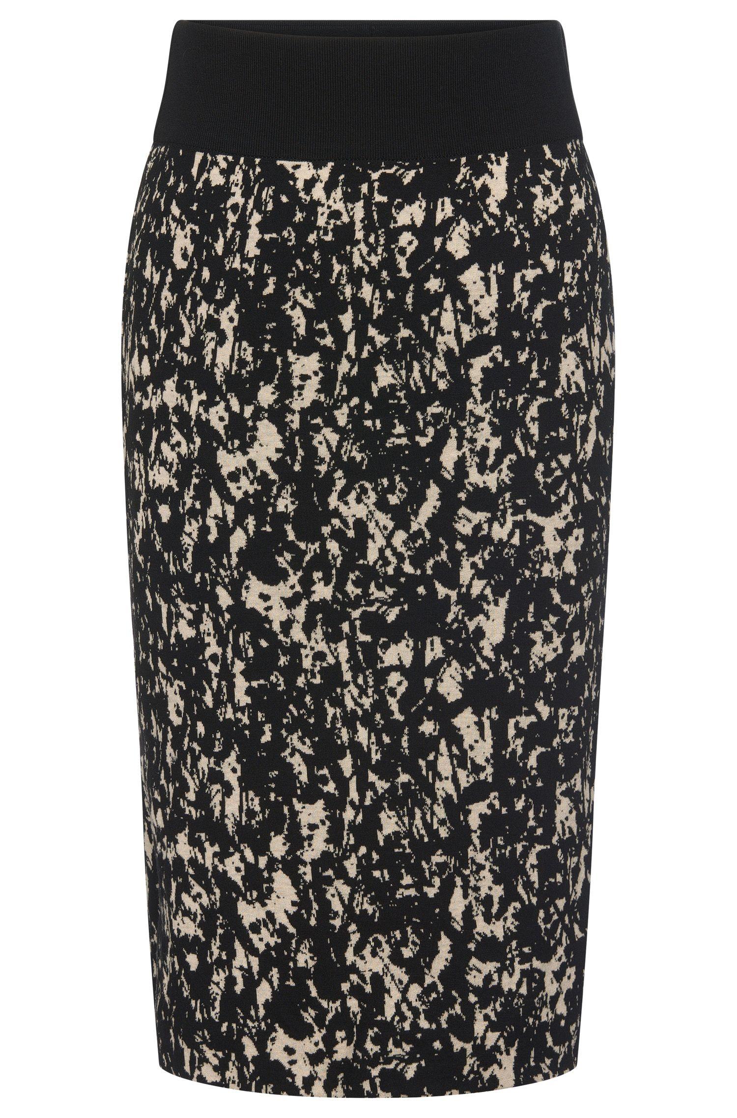 'Emkara'   Cotton Blend Knit Pencil Skirt