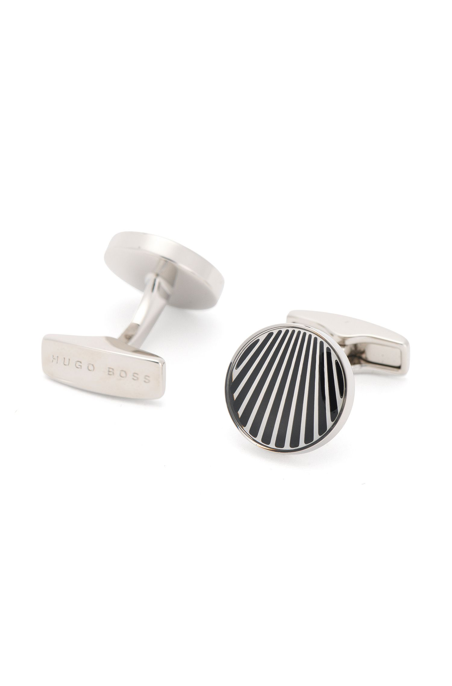 'Simon' | Brass Cufflinks