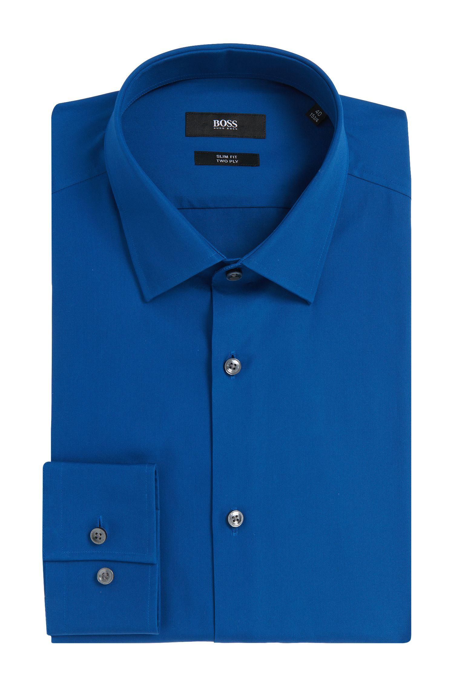 'Jenno' | Slim Fit, 2-Ply Italian Cotton Dress Shirt