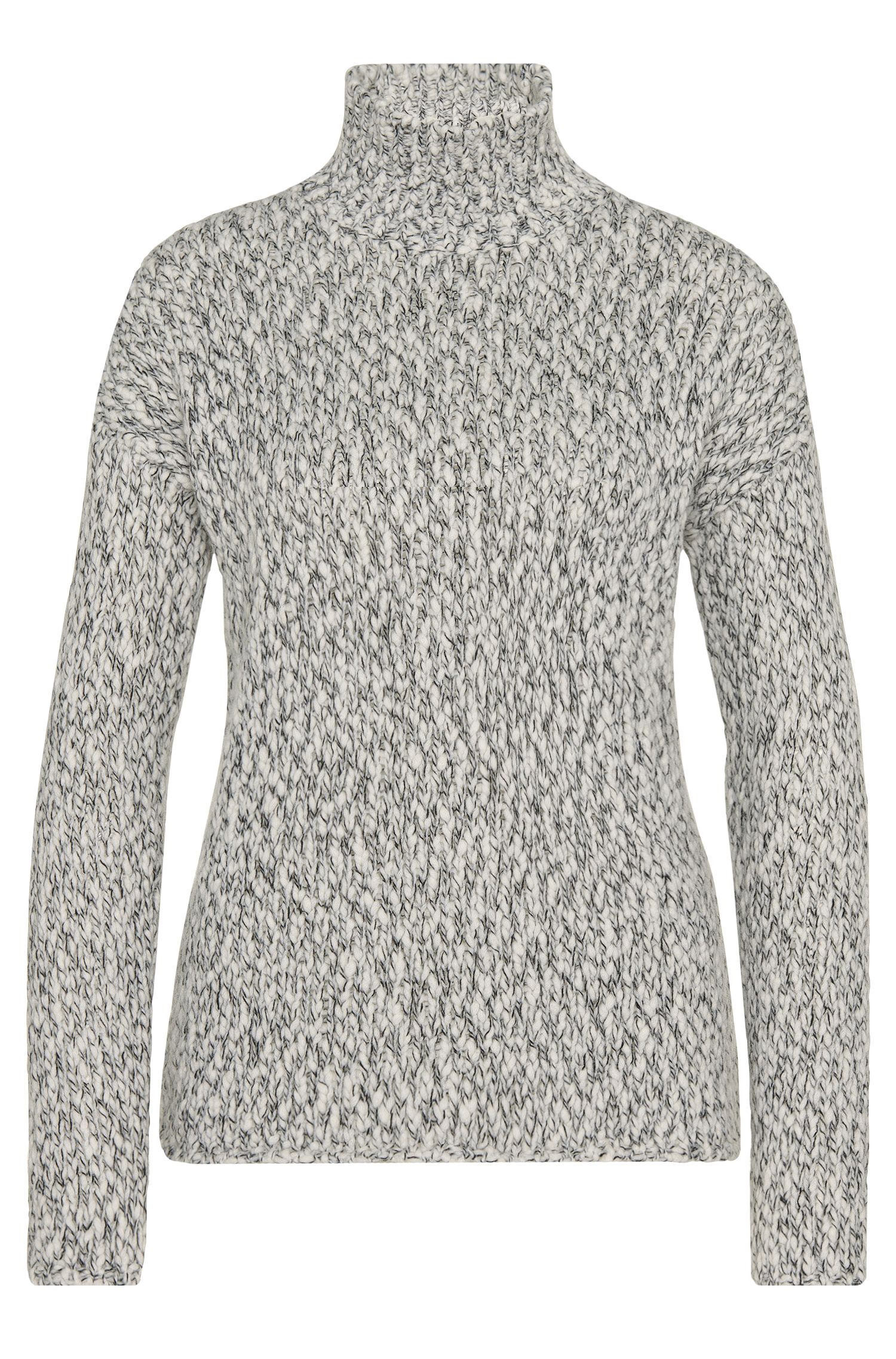 'Starly' | Wool Blend Mock Turtleneck