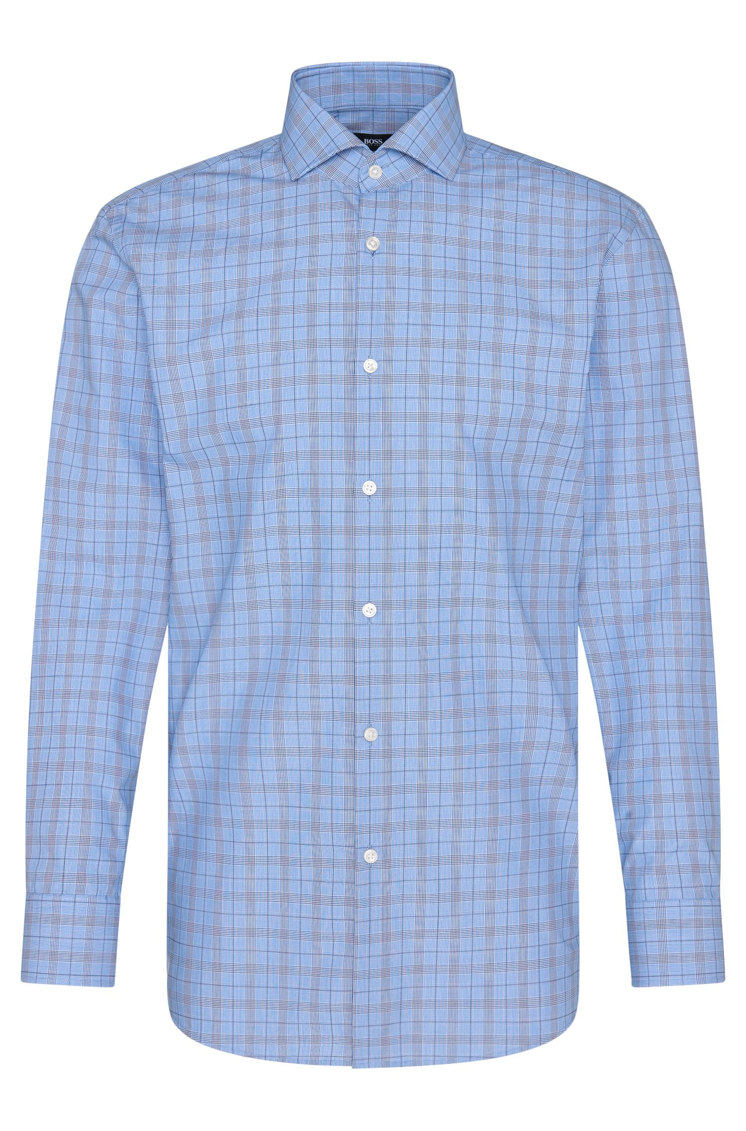 'Mark US' | Sharp Fit, Cotton Patterned Dress Shirt